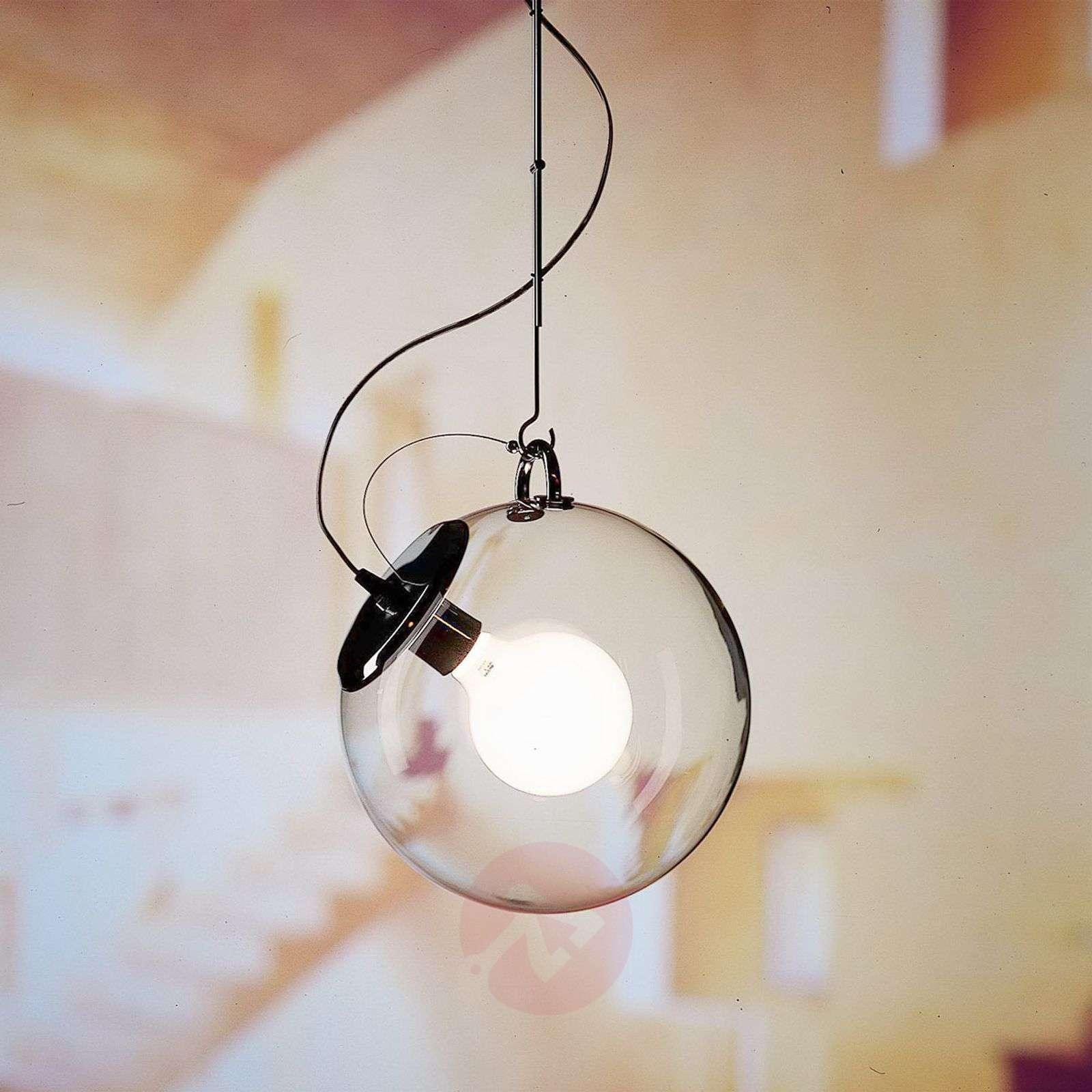 Artemide Miconos lasinen riippuvalaisin kromi-1060215-01