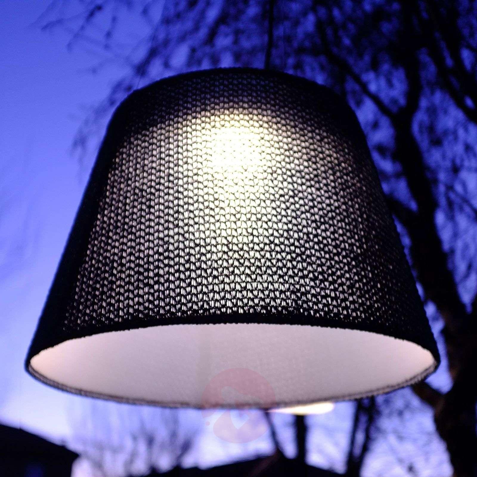 Artemide Tolomeo LED-ulkoriippuvalaisin, musta-1061032-01