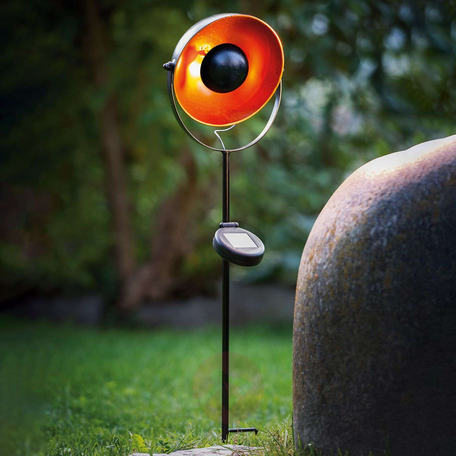 Aurinkok. LED-maapiikkivalo 48705 epäsuora valo-3000654-01