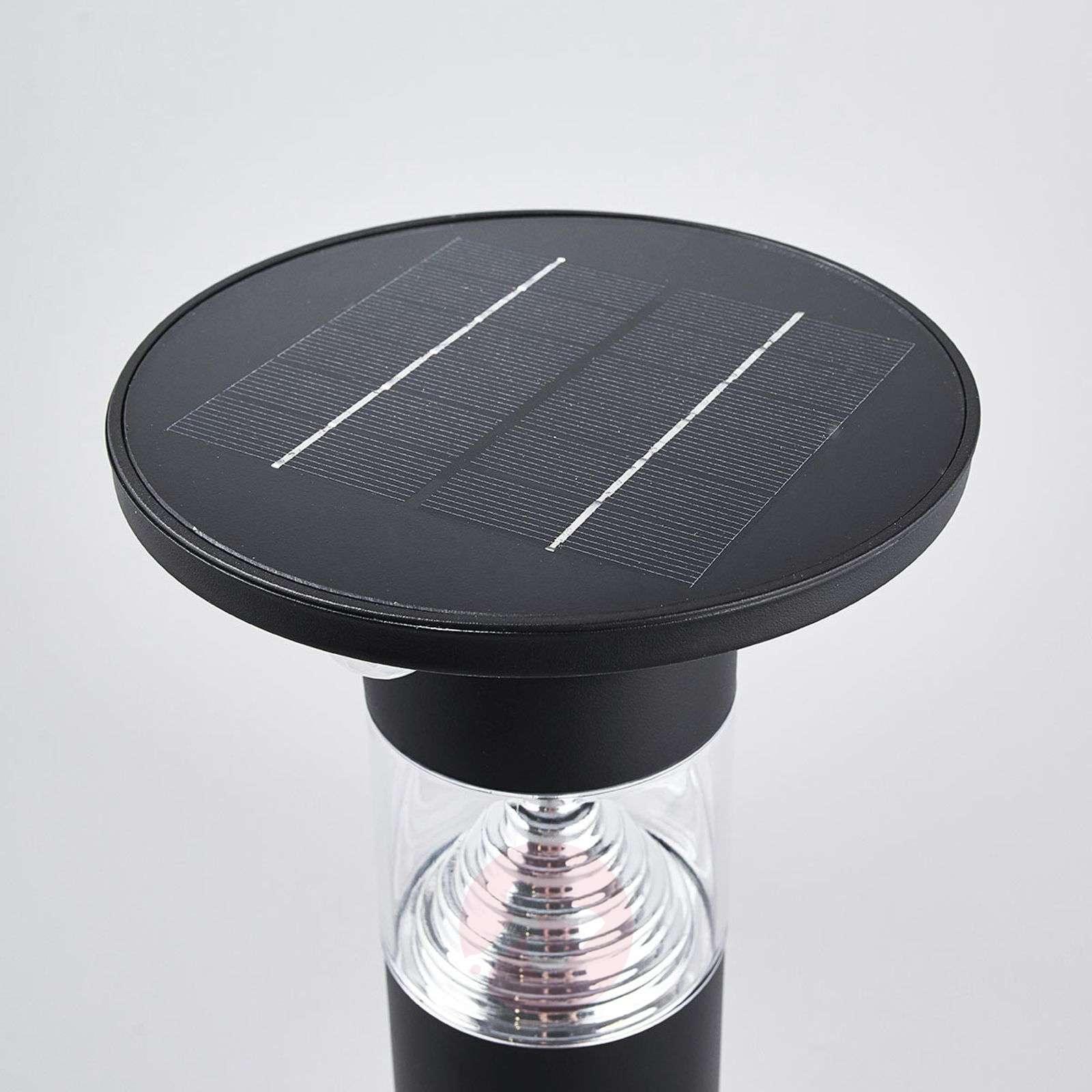 Aurinkok. LED-pollarivalaisin Jalisa, musta, tun.-9988190-01