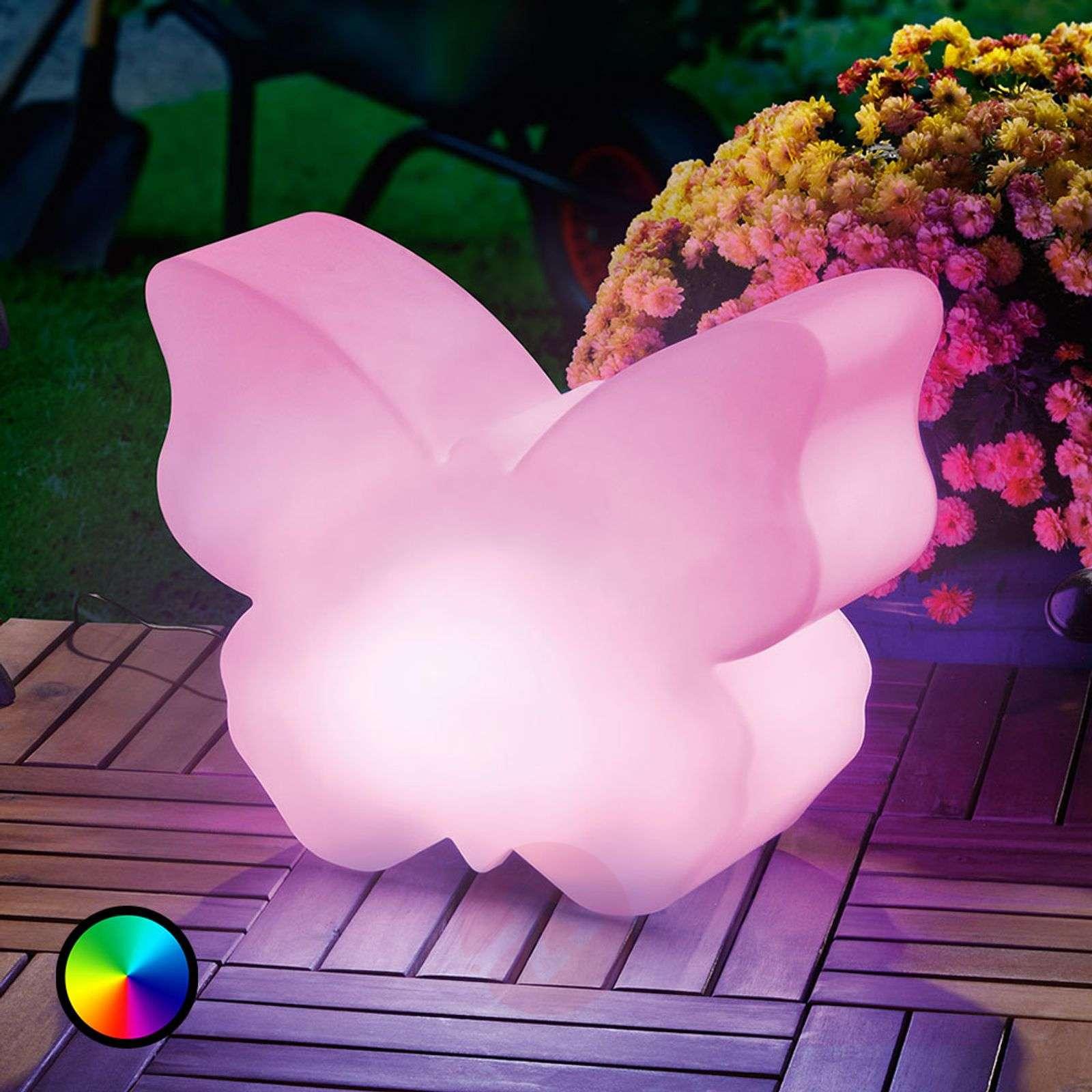 Aurinkok. LED-valaisin Butterfly värinvaihdolla-3012561-01