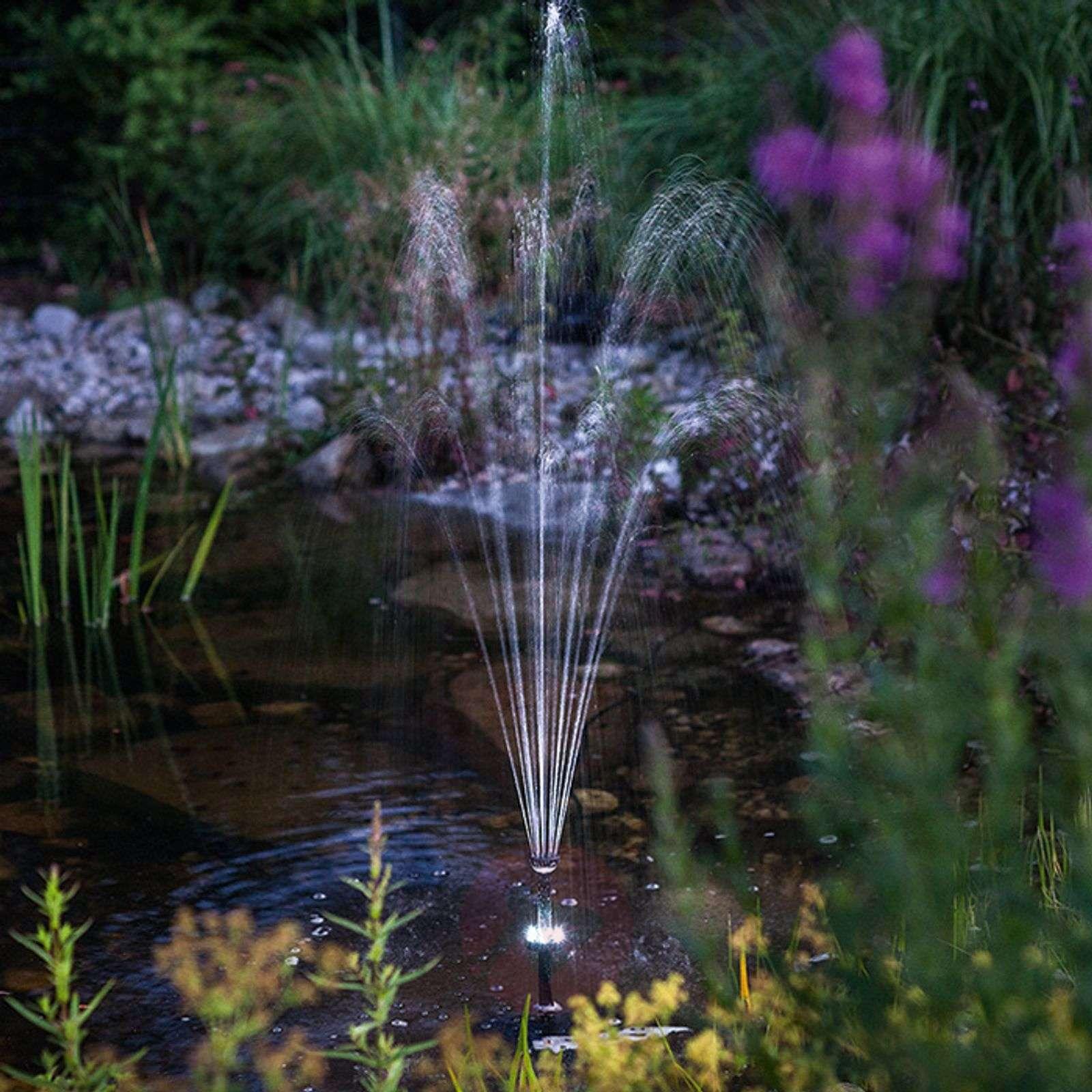 Aurinkokäyt. lammen pumppujärjestelmä Roma LED-3012526-01