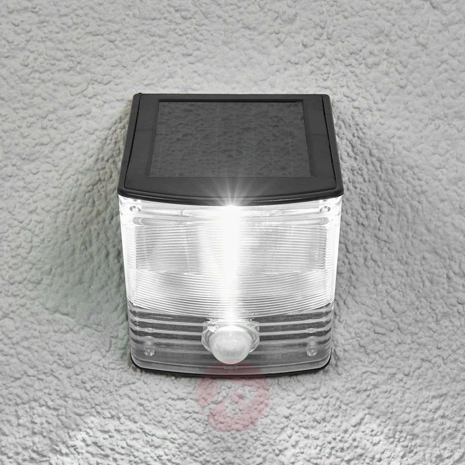 Aurinkokäyt. LED-seinävalo SOL 04 IP44-luok. musta-1540166-01