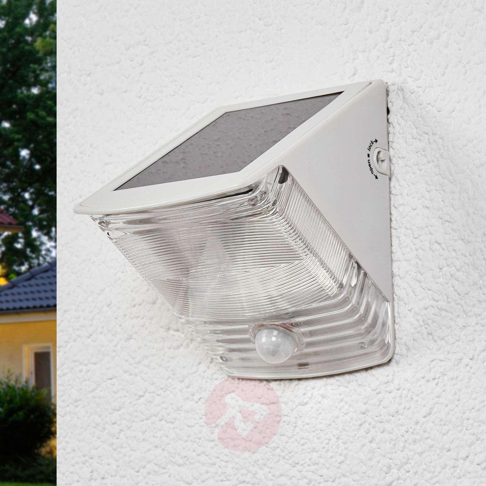 Aurinkokäyt. LED-seinävalo SOL 04 IP44 valkoinen-1540164-02