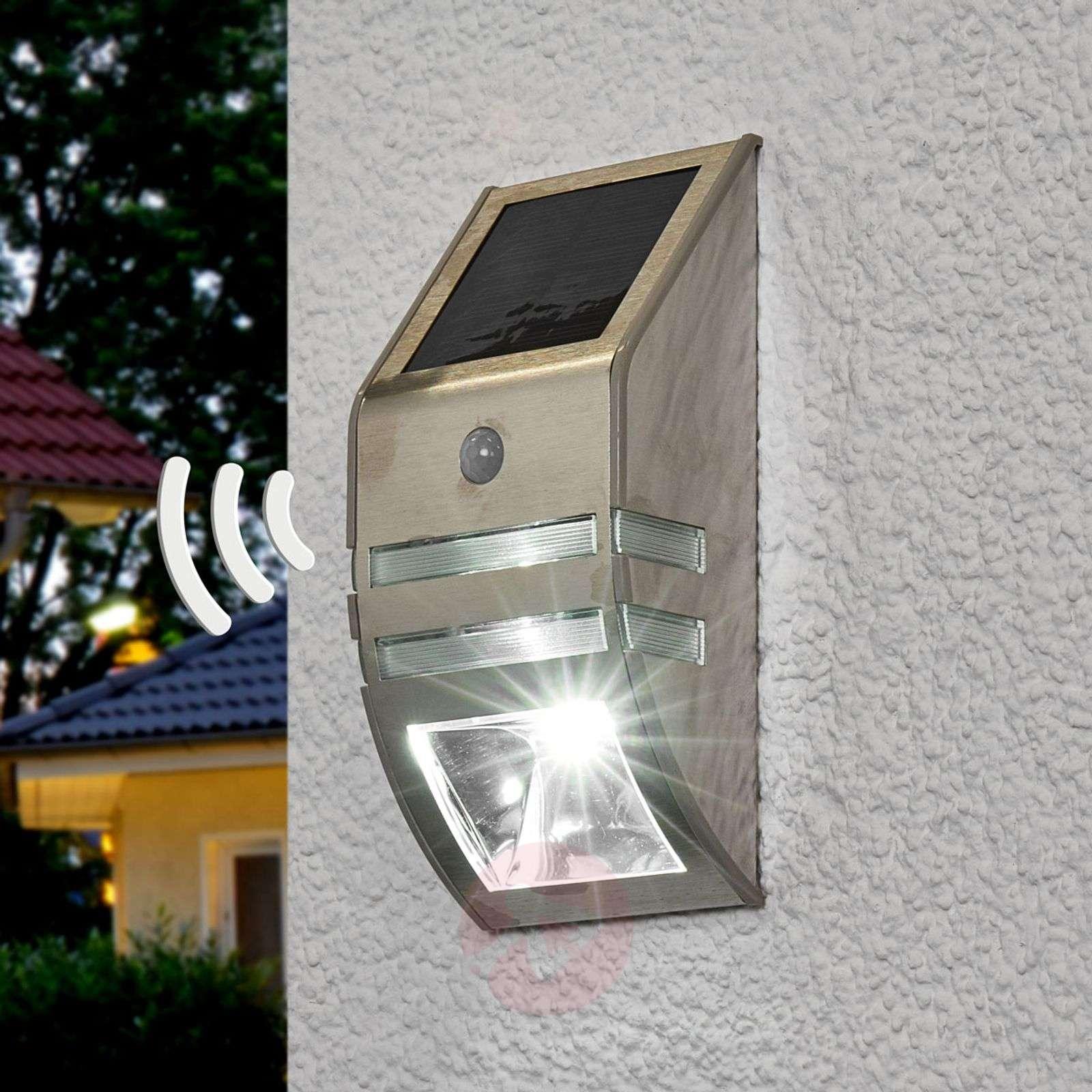 Aurinkokäyt. LED-seinävalo Sol WL-2007 liiketun.-1540155-01