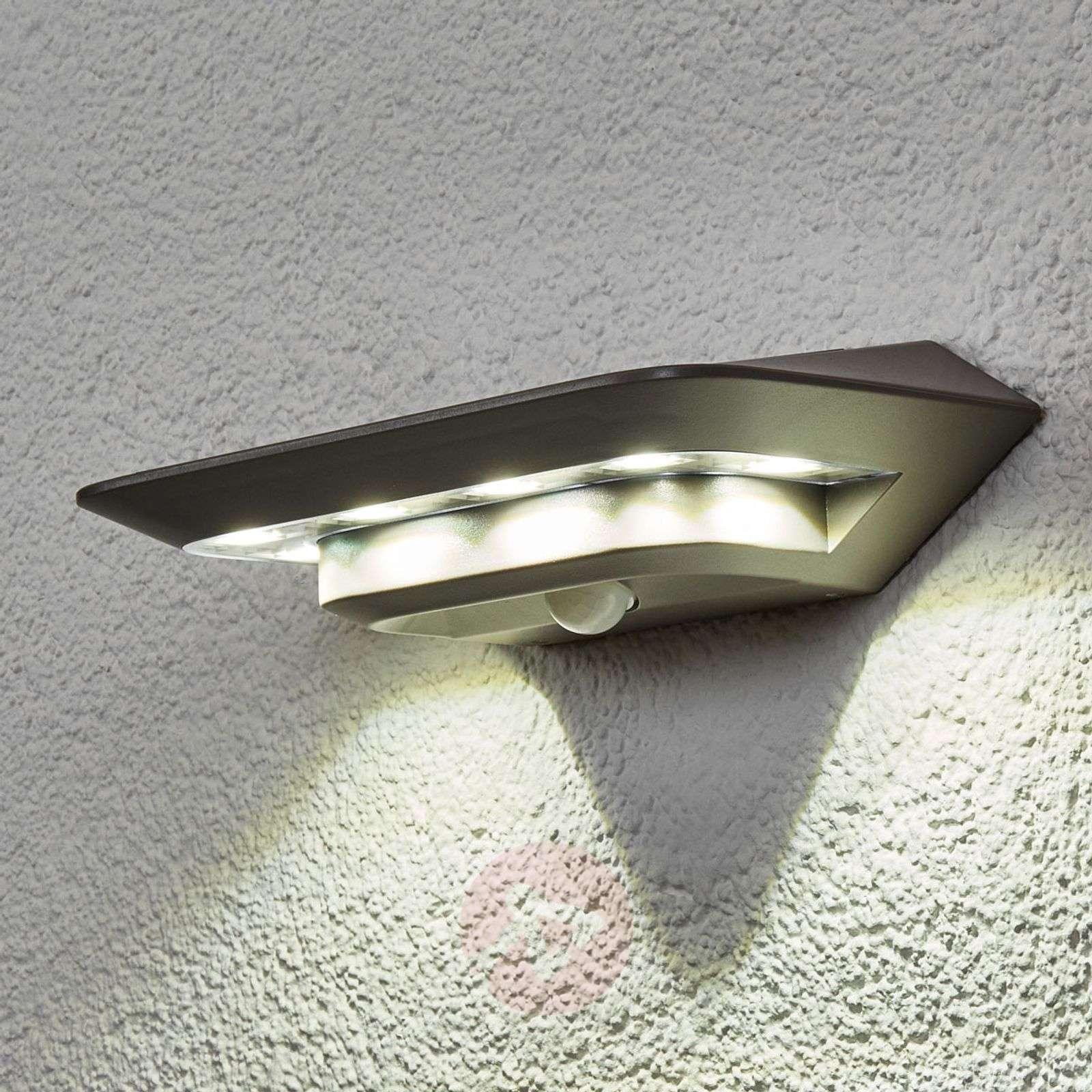 Aurinkokäytt. Ghost LED-seinävalaisin, liiketunn.-3006174-03