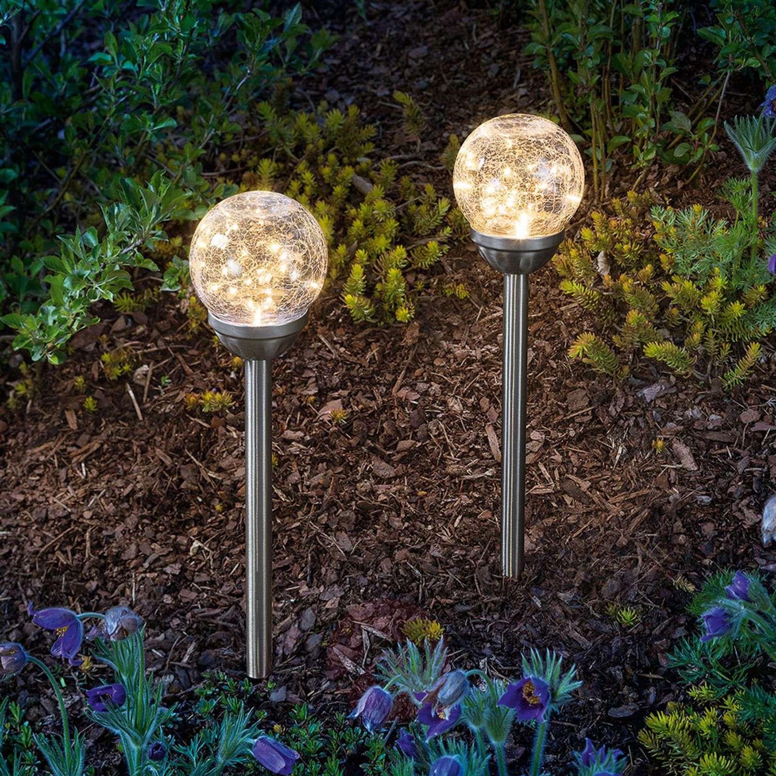 Aurinkokäytt. lamppu Golden Dream, maapiikki 2kpl-3012572-01