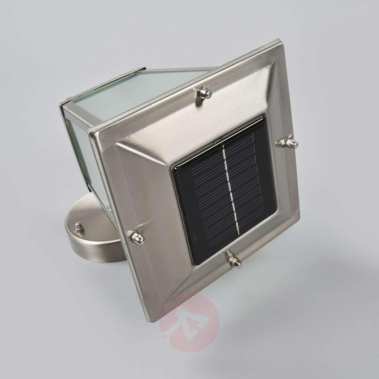 Aurinkokäyttöinen Anica-LED-ulkoseinävalaisin-9955057-01