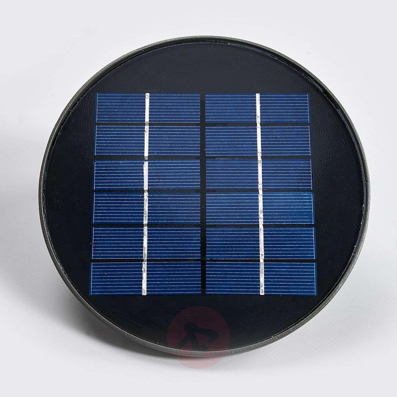 Aurinkokäyttöinen Dusk-LED-ulkoseinävalo, antr.-7531548-01