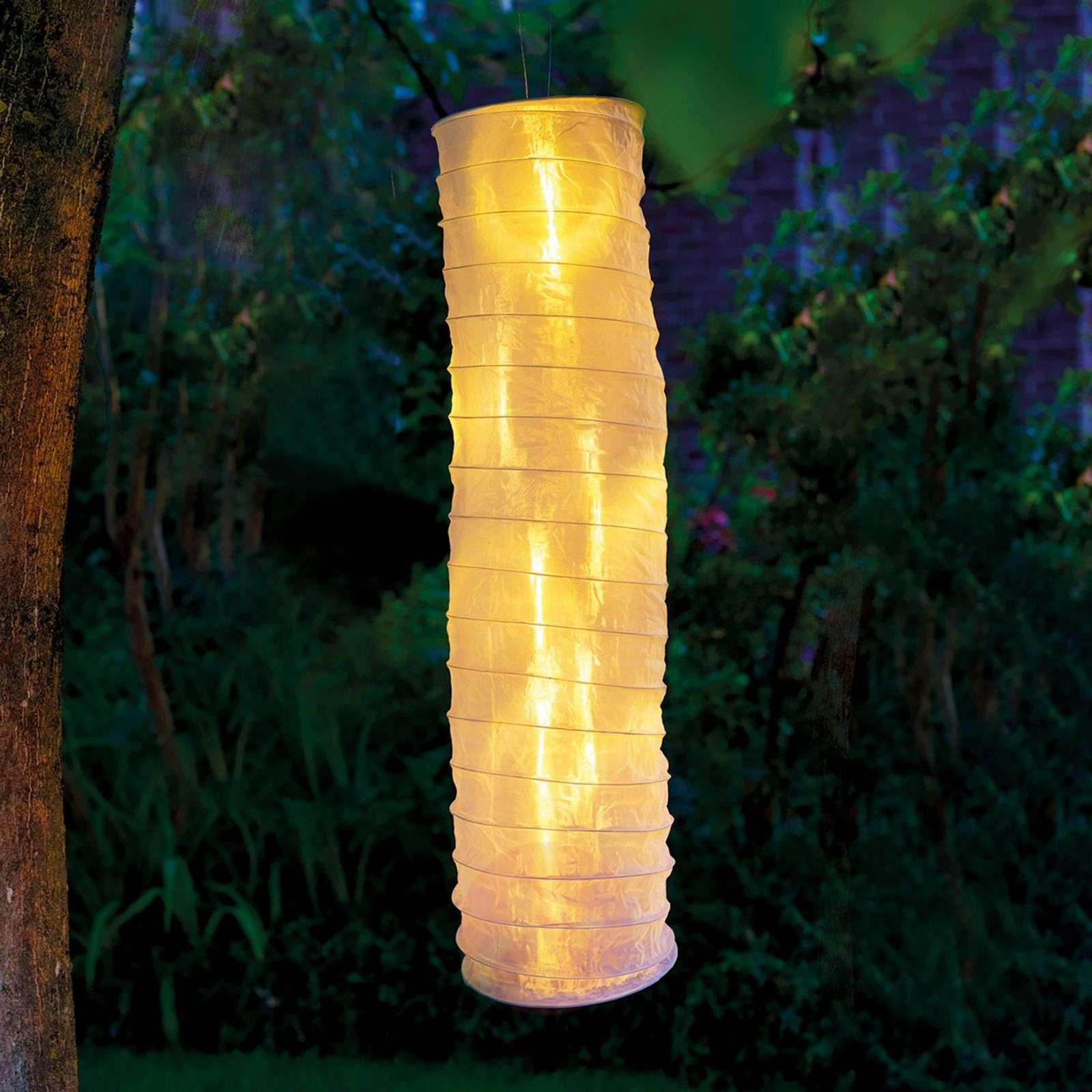 Aurinkokäyttöinen kiinalainen LED-lyhty, valkoinen-5527157-03
