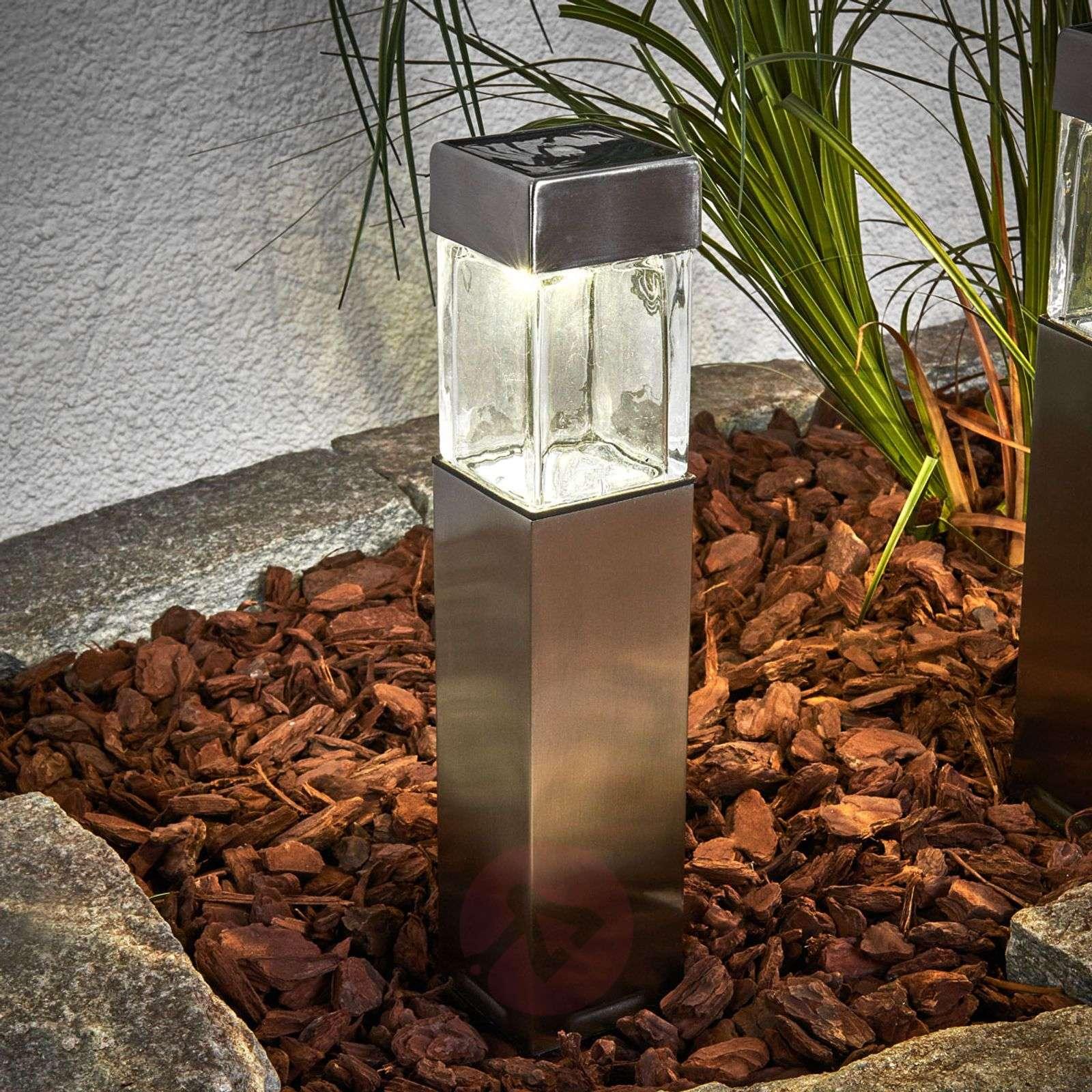 Aurinkokäyttöinen LED-lamppu Barny, 4:n setti-2610007-01