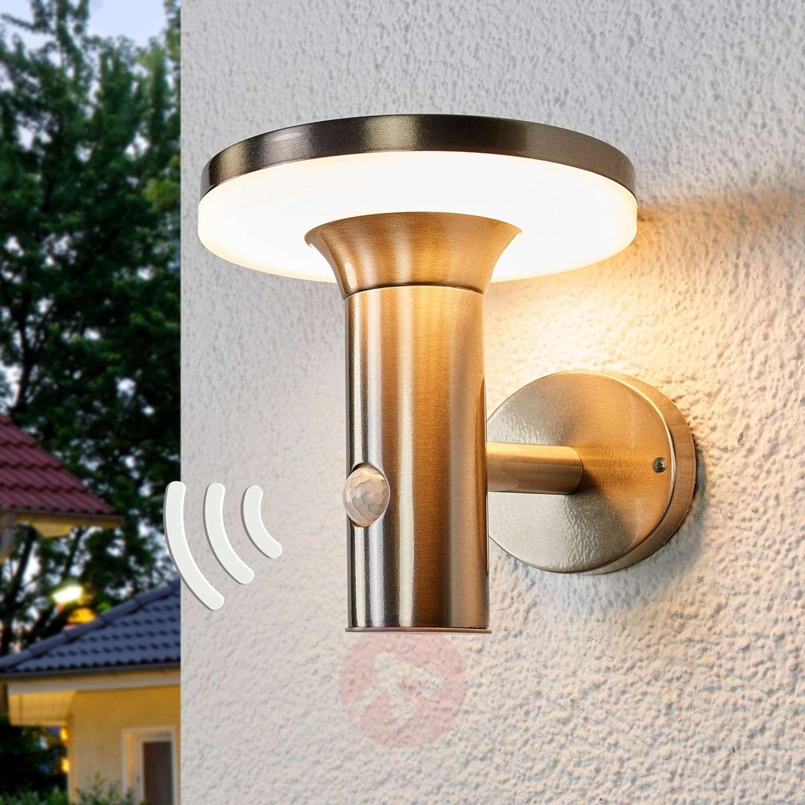 Aurinkokäyttöinen LED-lamppu Eliano liiketunnist.-9988180-01