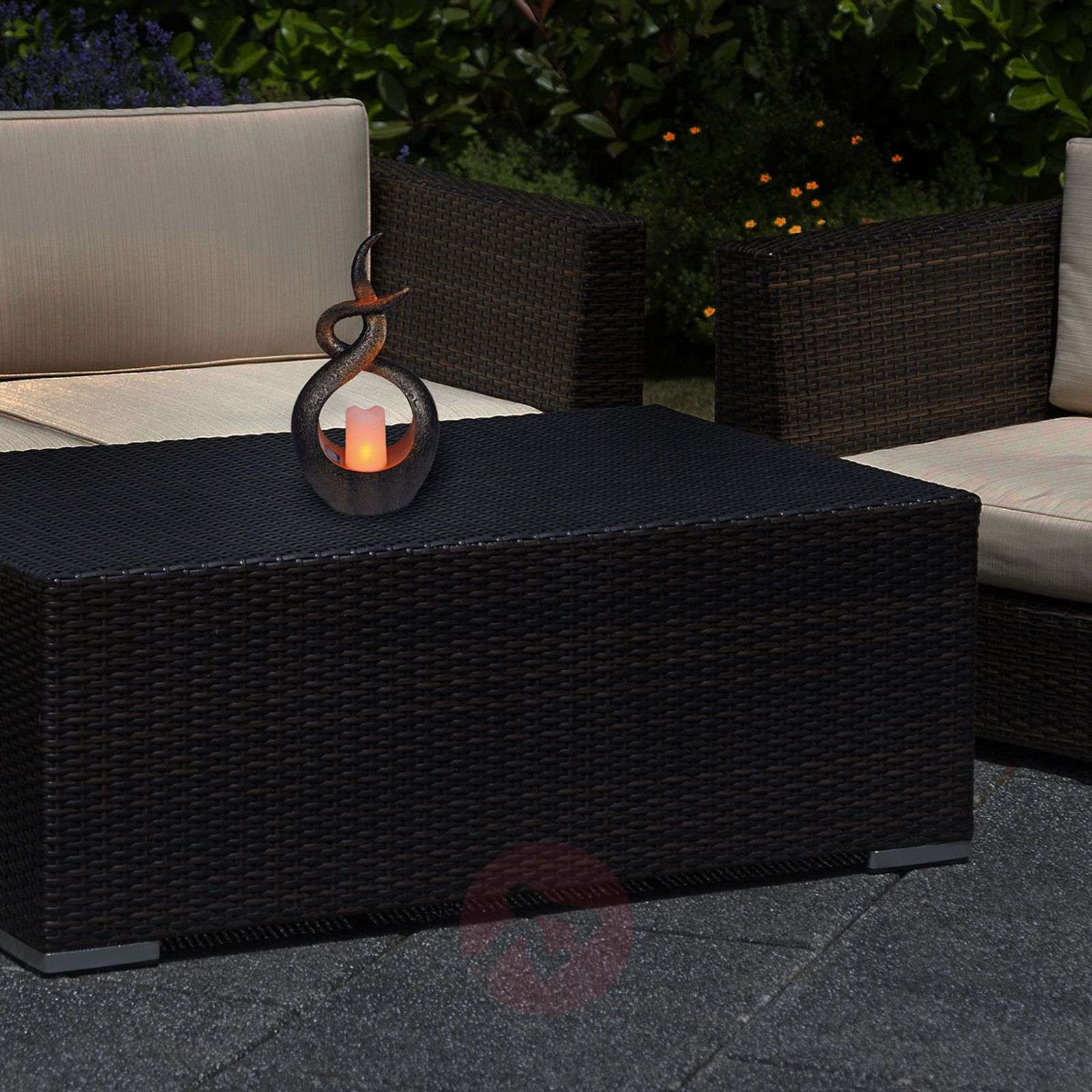 Aurinkokäyttöinen LED-lamppu Oriental-7001063-01