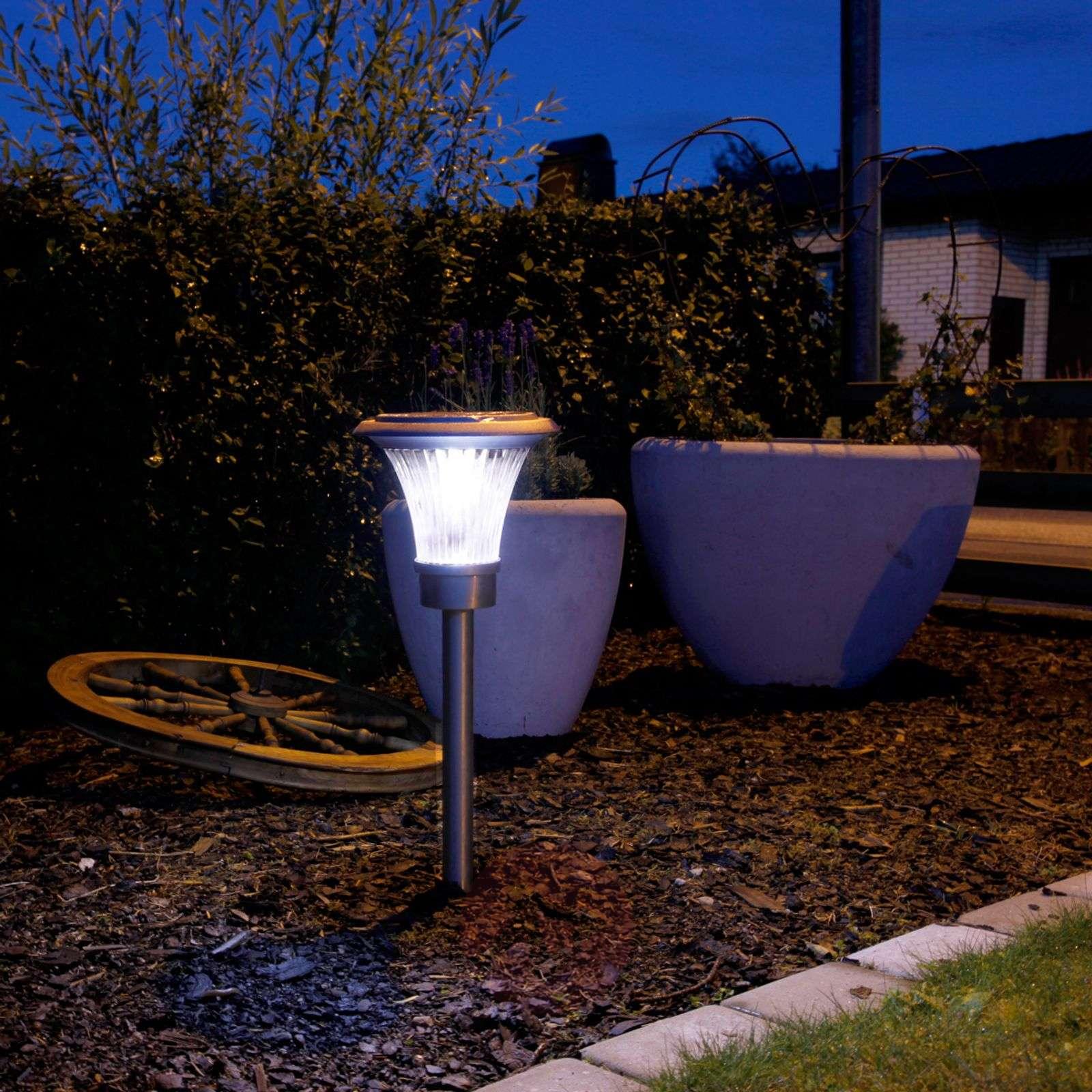Aurinkokäyttöinen LED-maapiikkivalaisin Sunny-1522983-01