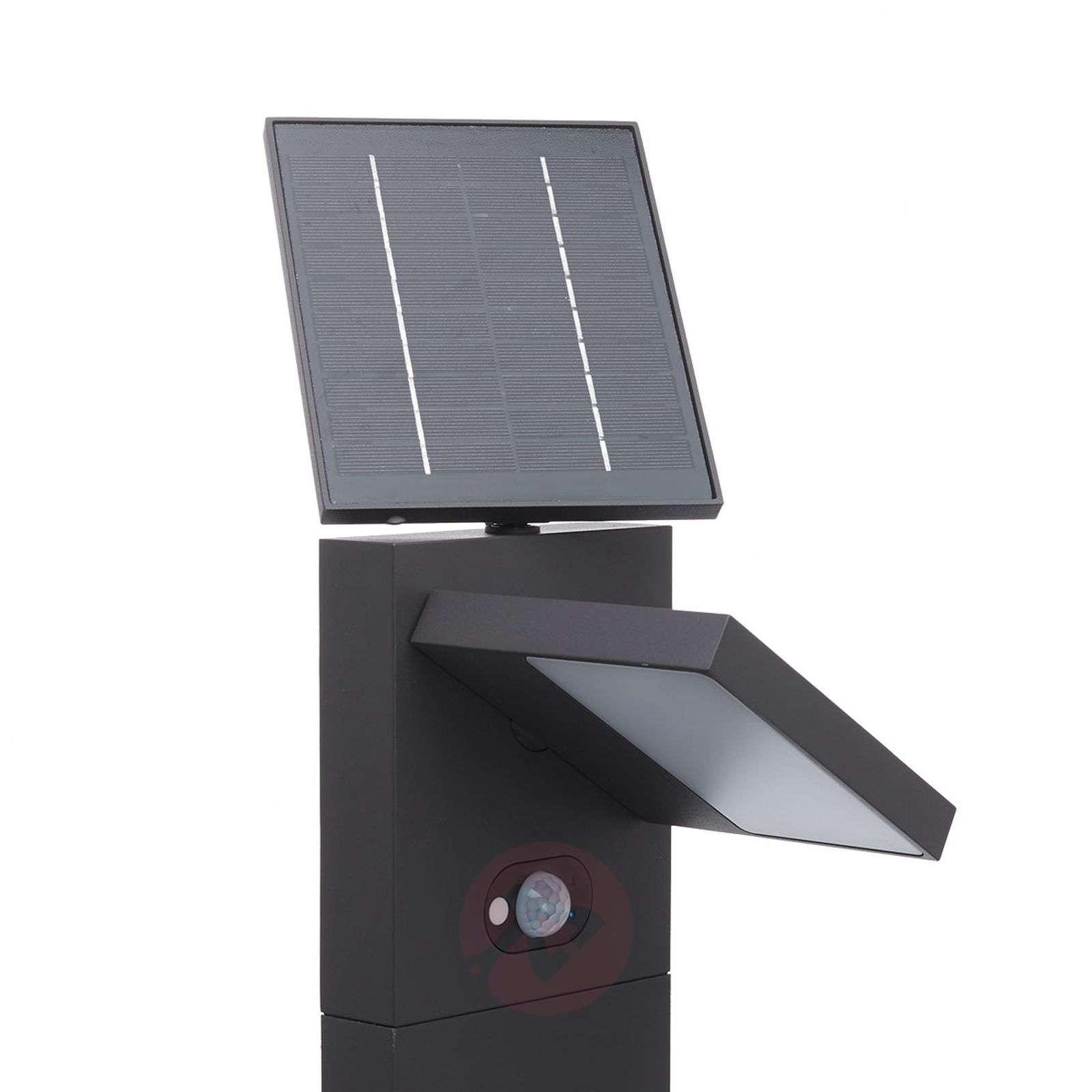 Aurinkokäyttöinen LED-pylväsvalaisin Silvan, 100-9619181-02