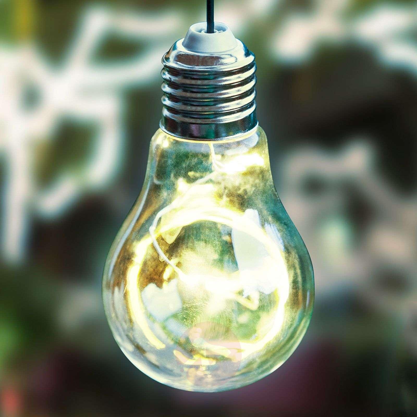 Aurinkokäyttöinen LED-riippuvalo 48514 hehkulamppu-3000661-01