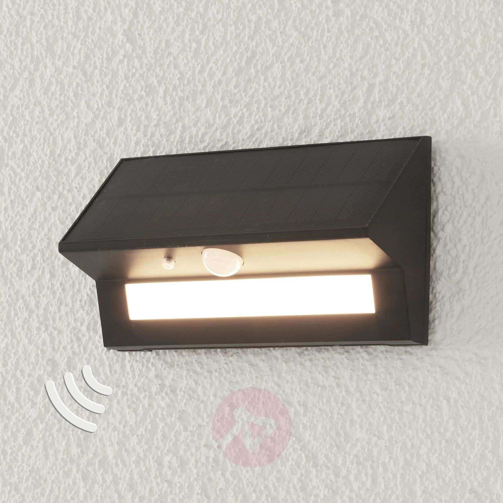 Aurinkokäyttöinen LED-ulkoseinävalaisin Kristiana-9988195-02
