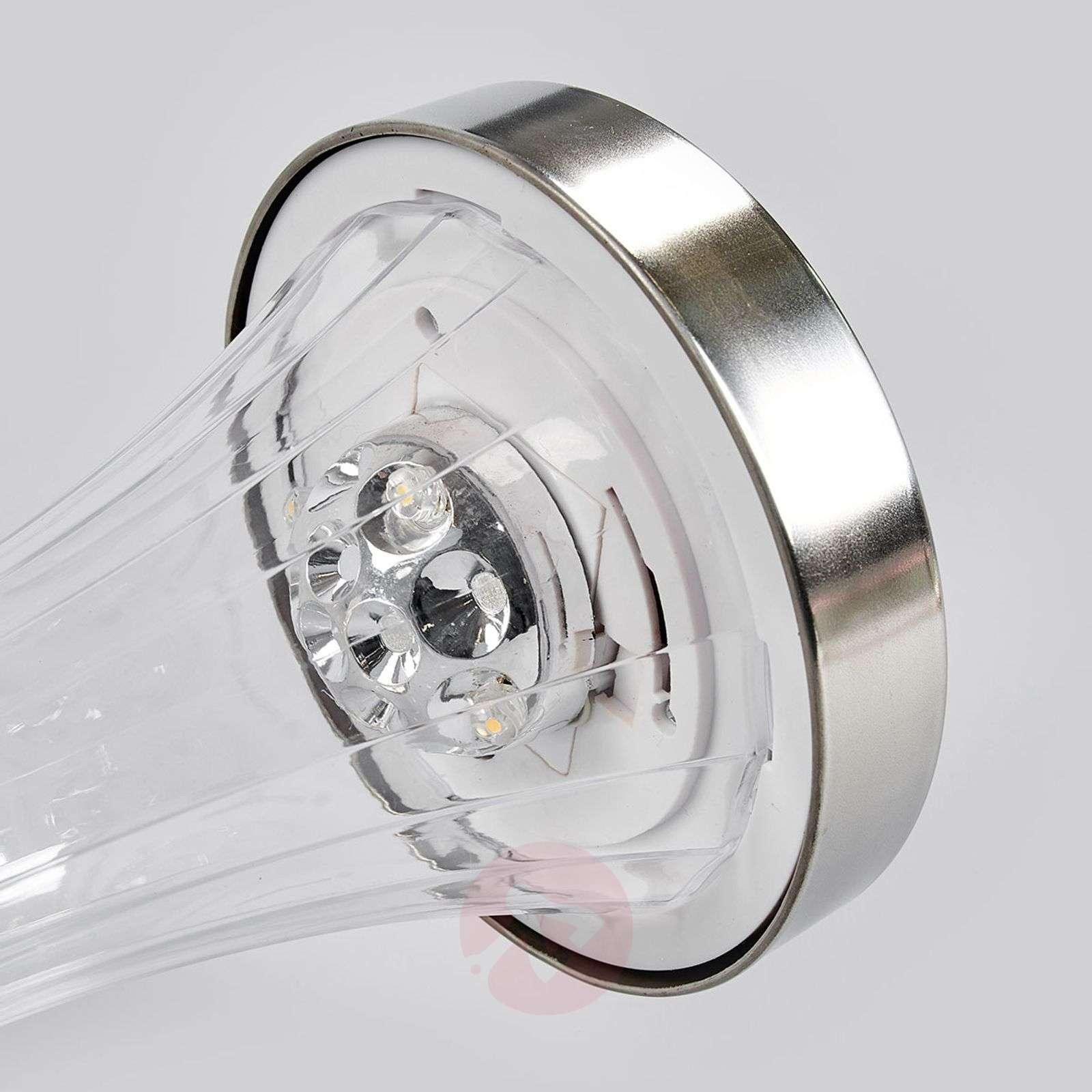 Aurinkokäyttöinen LED-ulkoseinävalaisin Najee-5527155-01