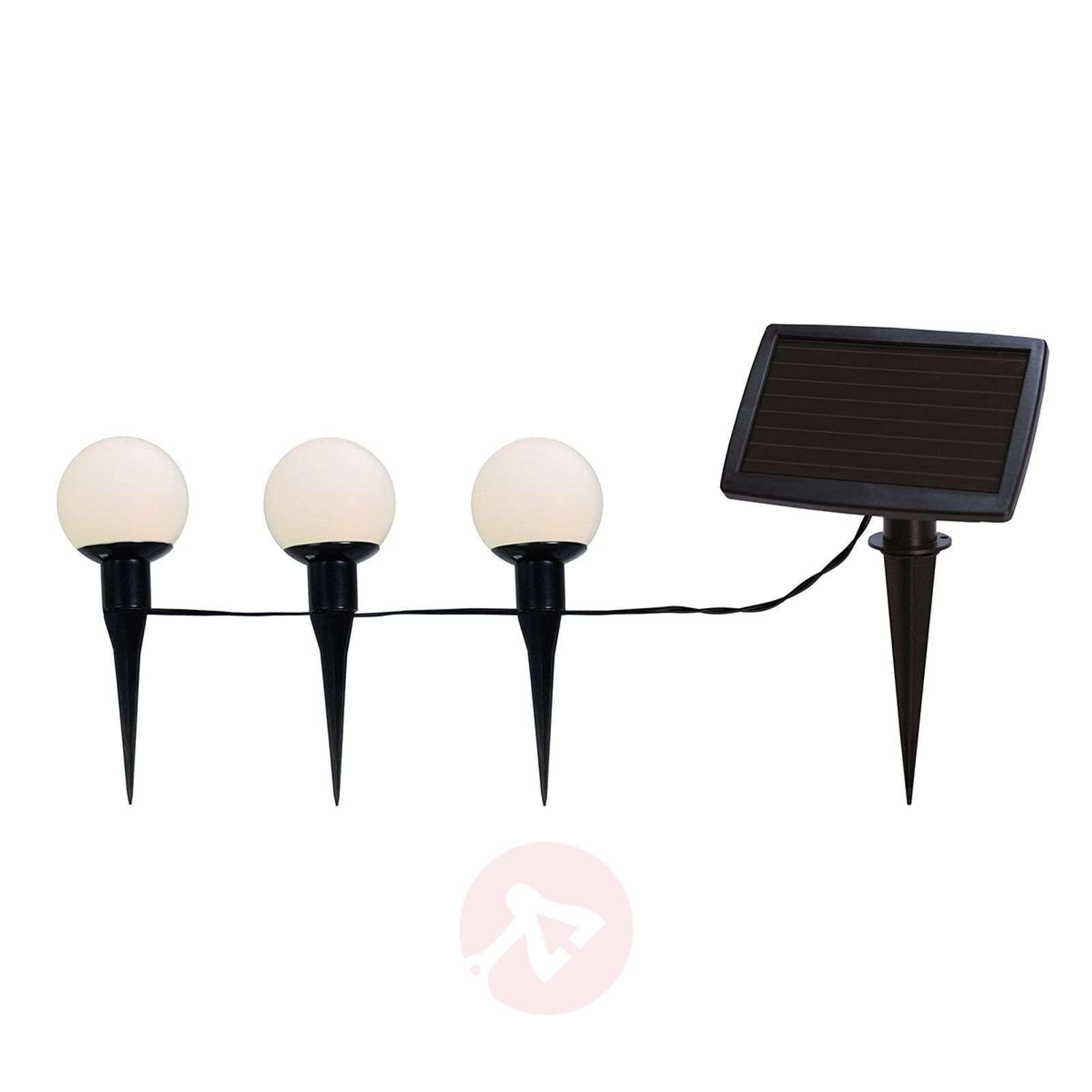 Aurinkokäyttöinen LED-valosarja, 6 pallon kombo-1522659-09