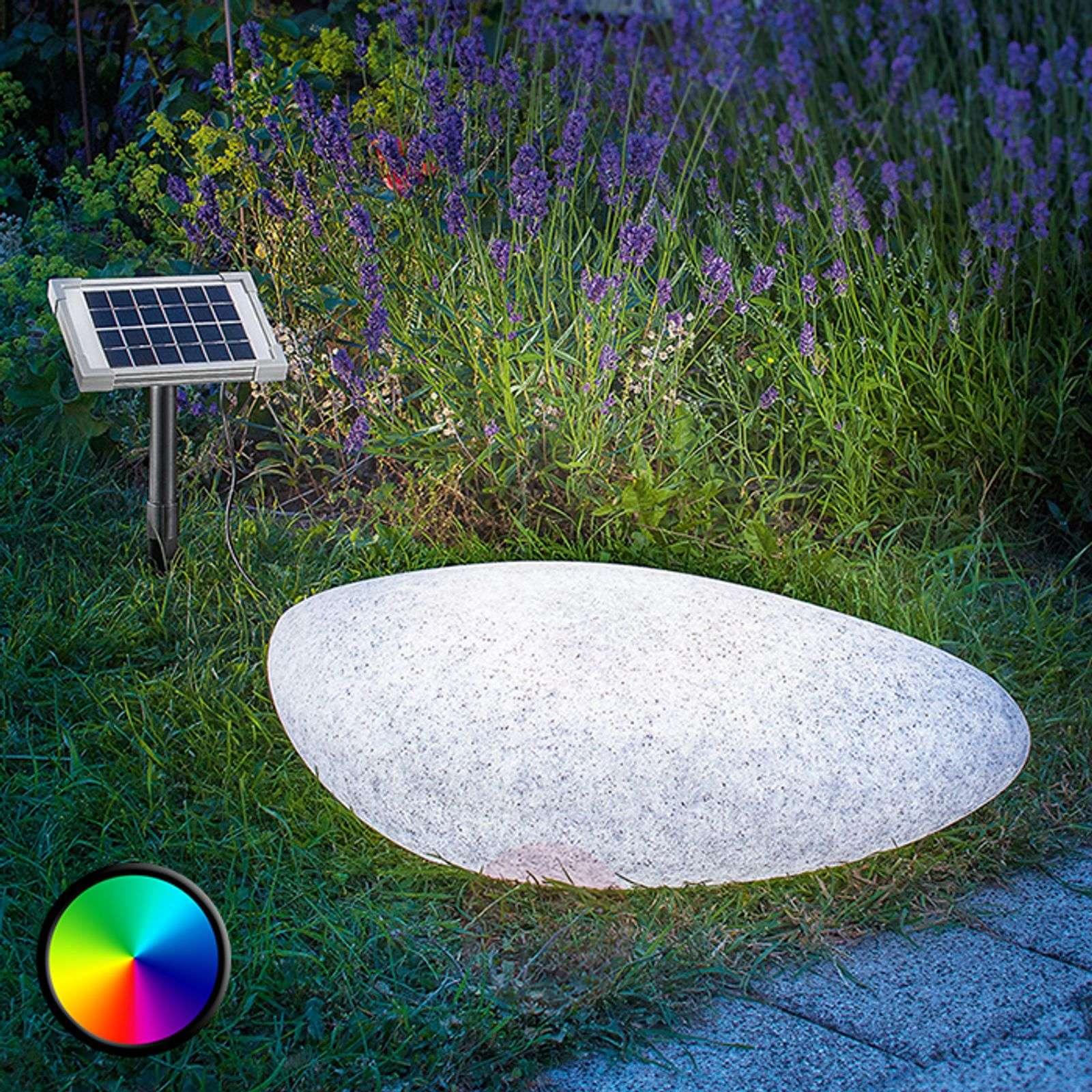 Aurinkokäyttöinen Stone 40-koristevalaisin LED-3012503-02