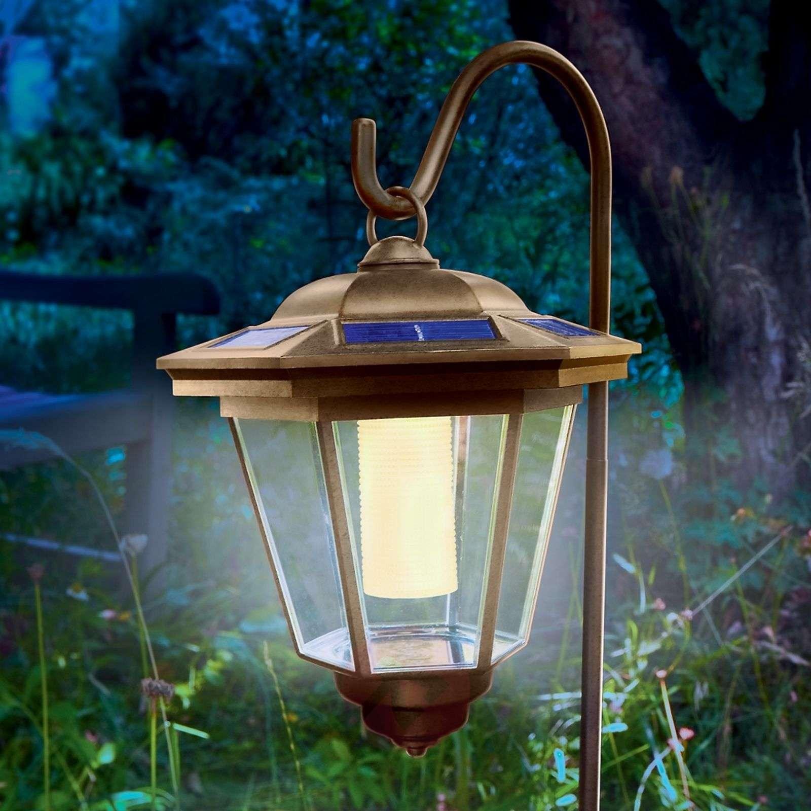 Aurinkokäyttöinen Tivoli-lyhtyvalaisin LED-3012135-01