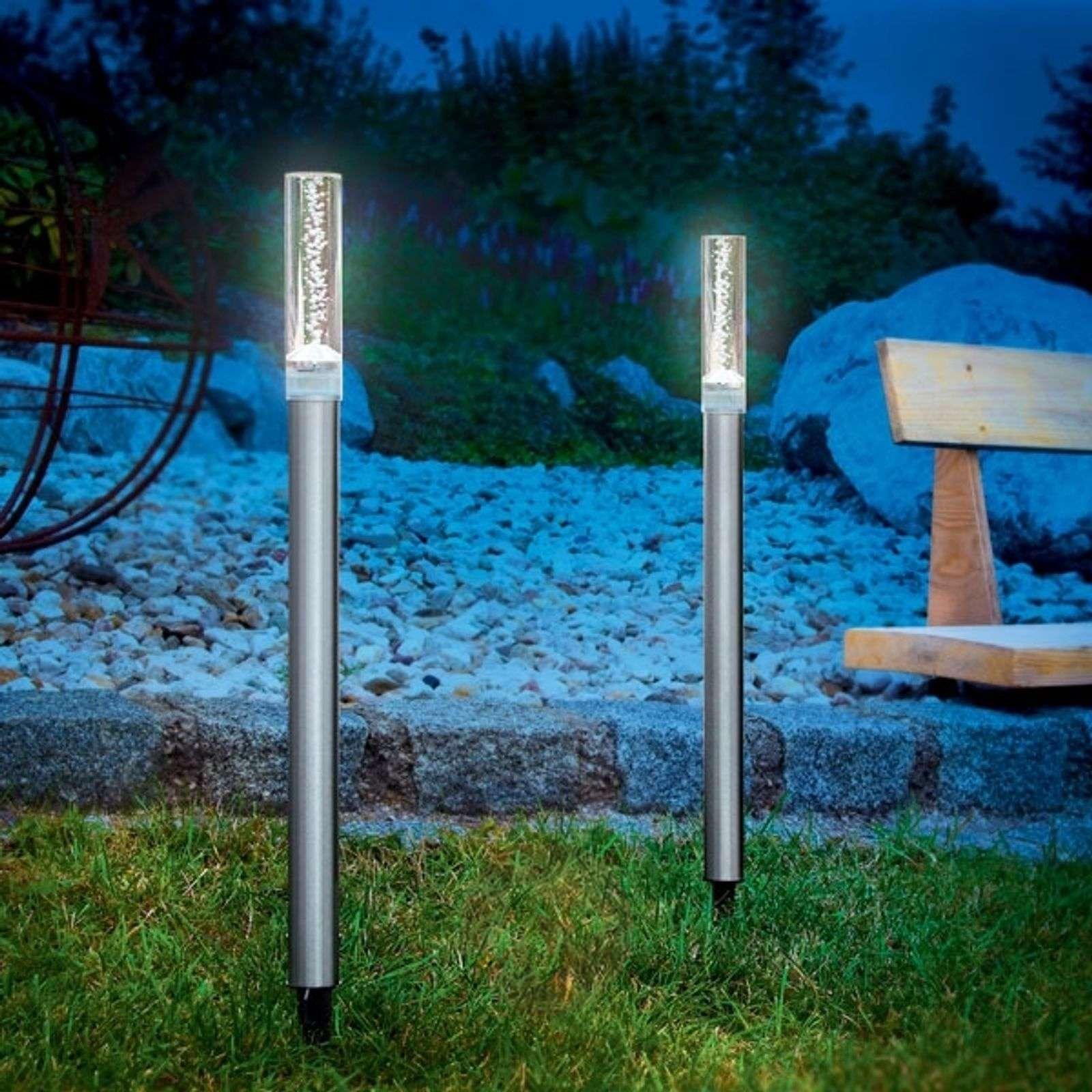 Aurinkokäyttöiset Twin-valaisinsauvat 2 kpl-3012091-01