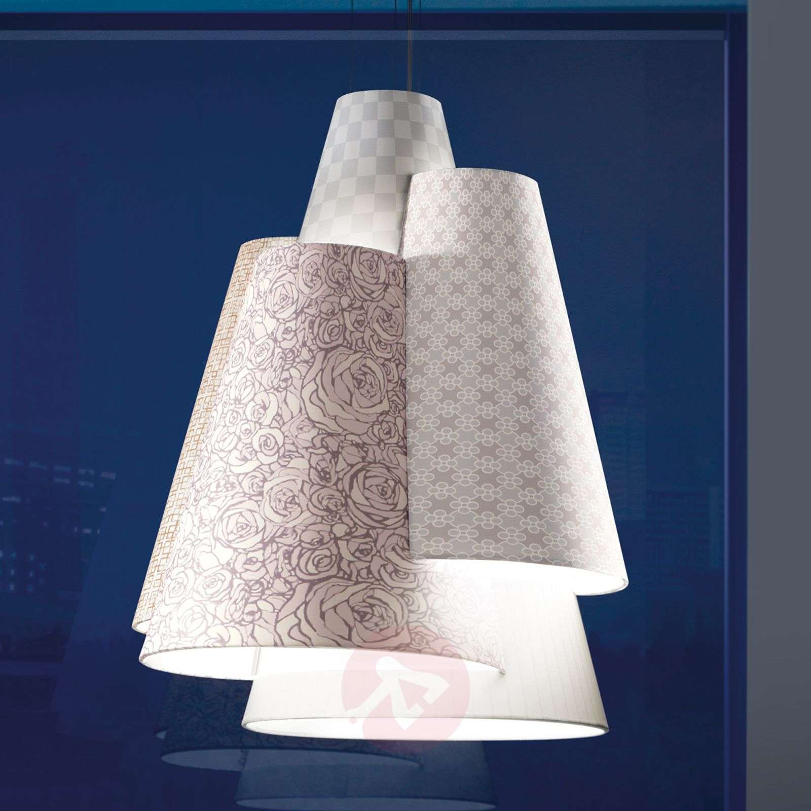 Axolight Melting Pot 60-riippuvalaisin valkoinen-1088074-01