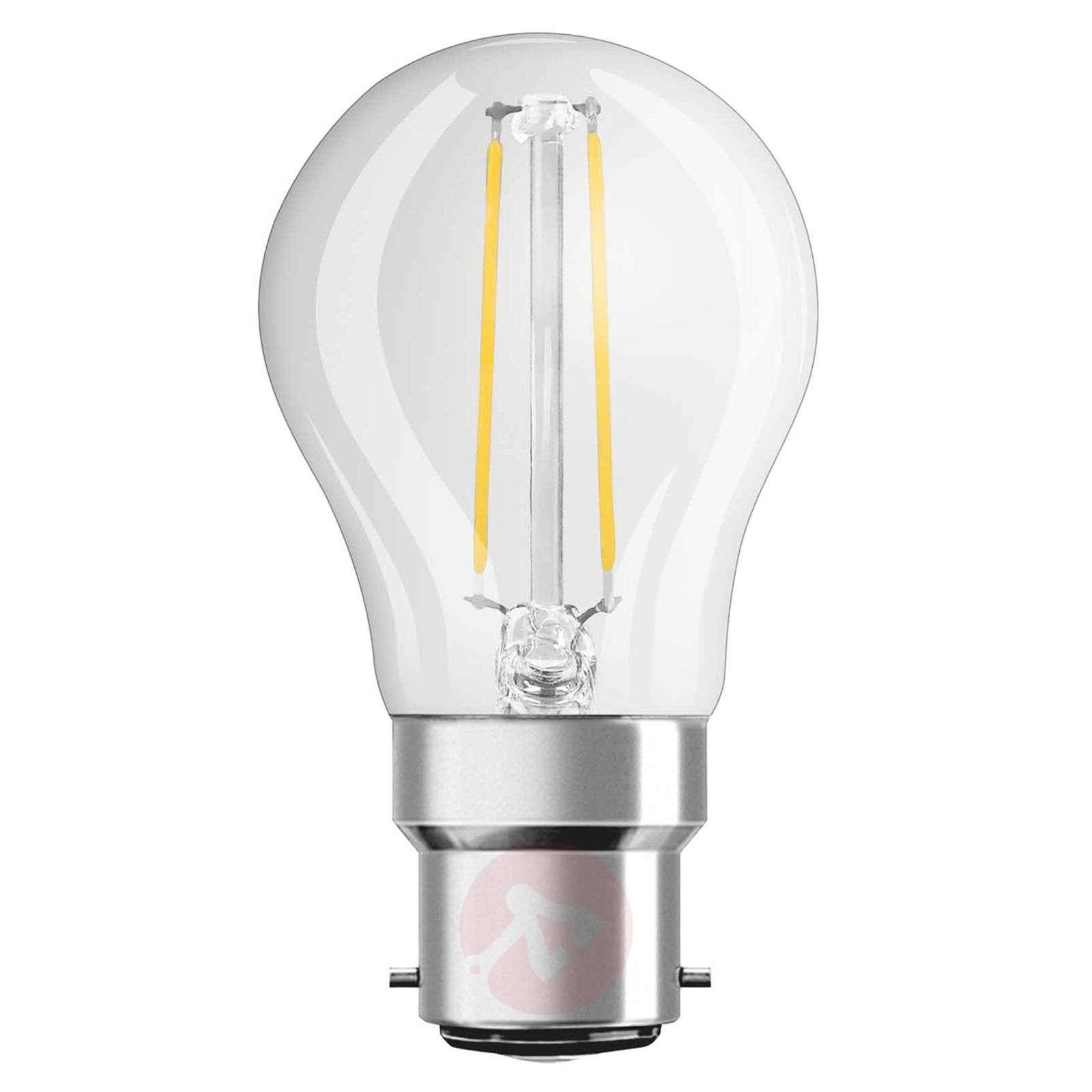 B22 2,8W 827 LED-hehkulankapisaralamppu-7260922-01