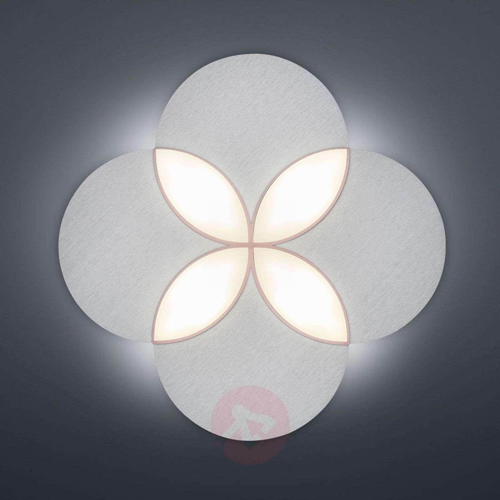 BANKAMP Spring-LED-kattovalaisin, eloksoitu hopea-1572055-01