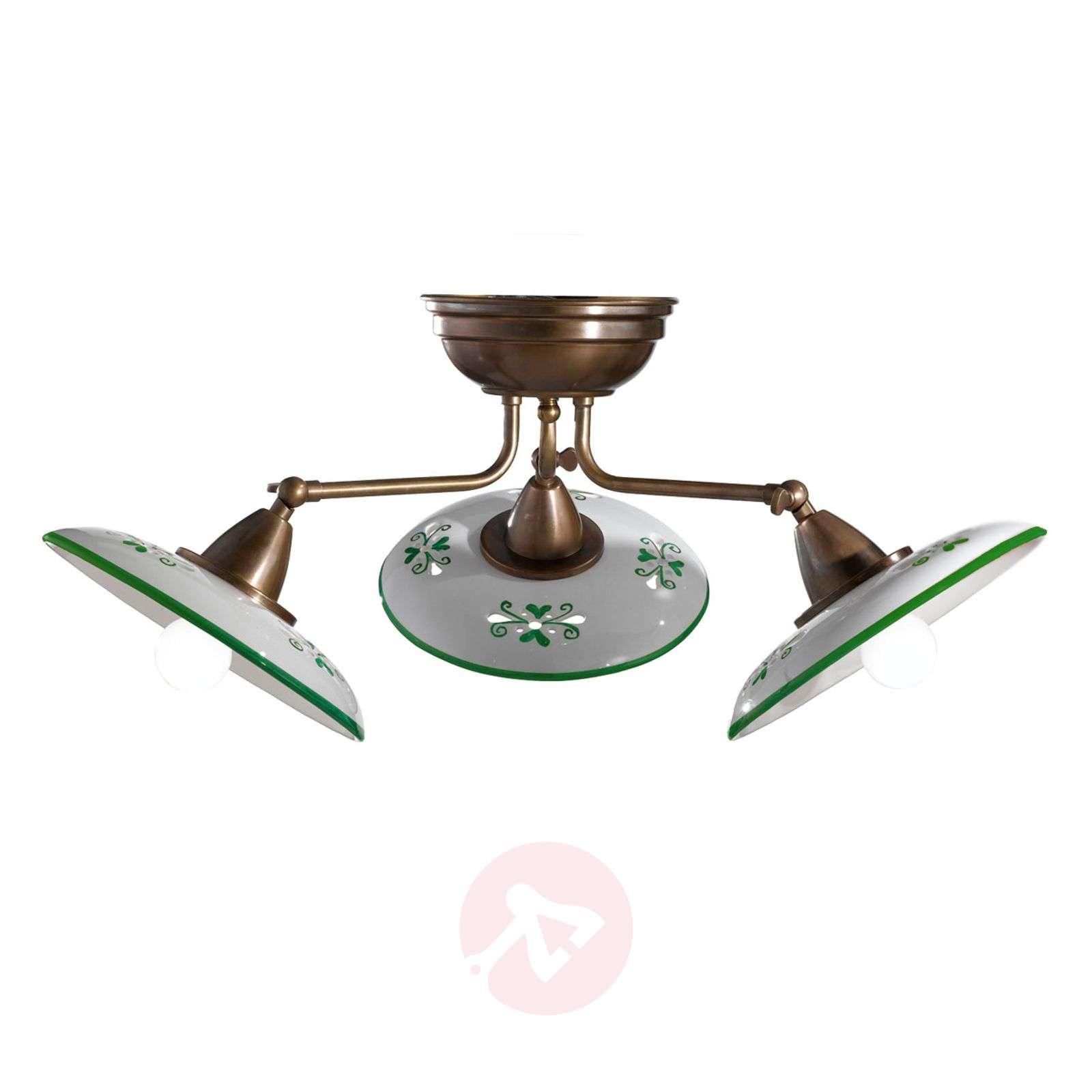 Bassano – kolmilamppuinen keraaminen kattovalaisin-2008265X-01