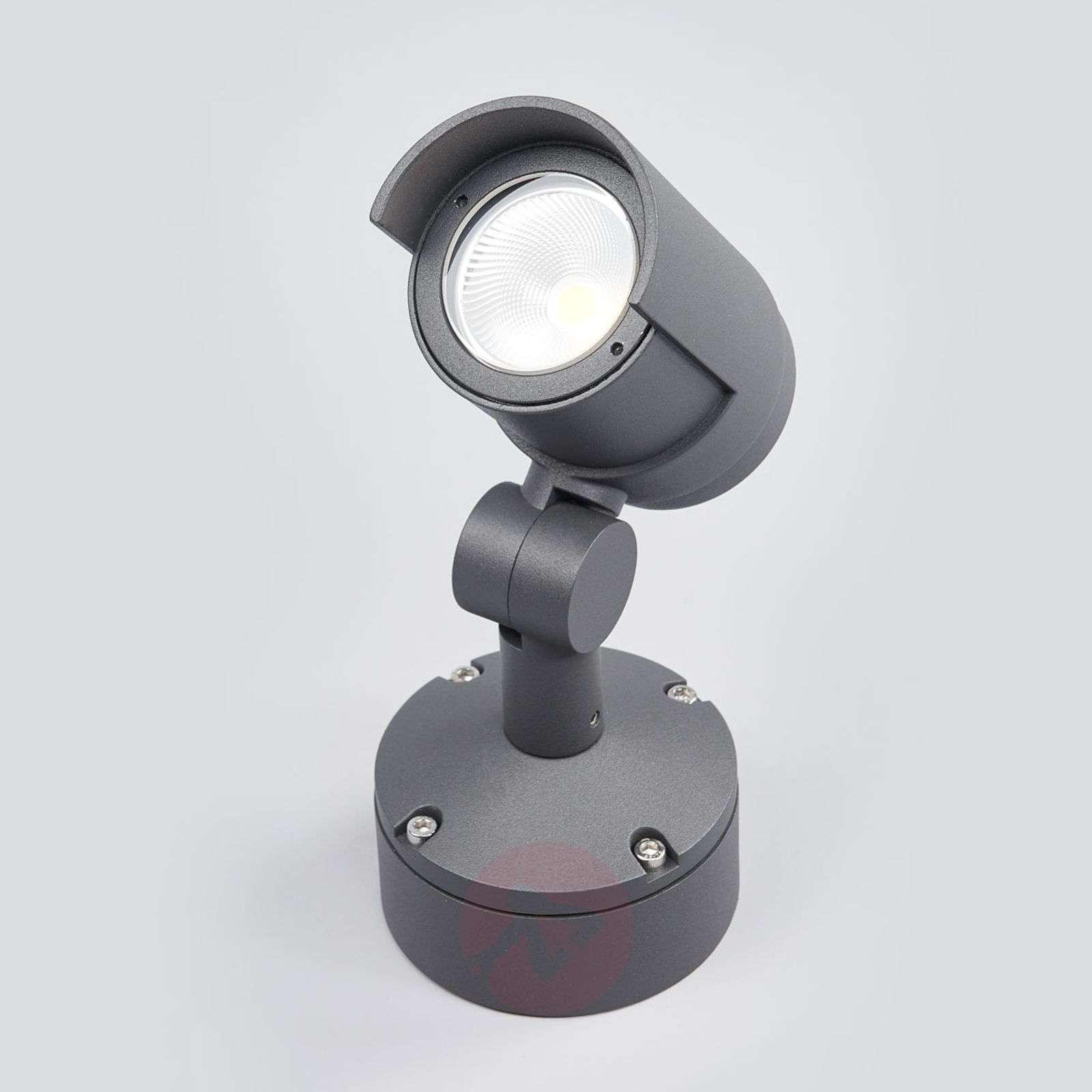 Beatrix-LED-ulkovalaisin tummanharmaana-9616117-01