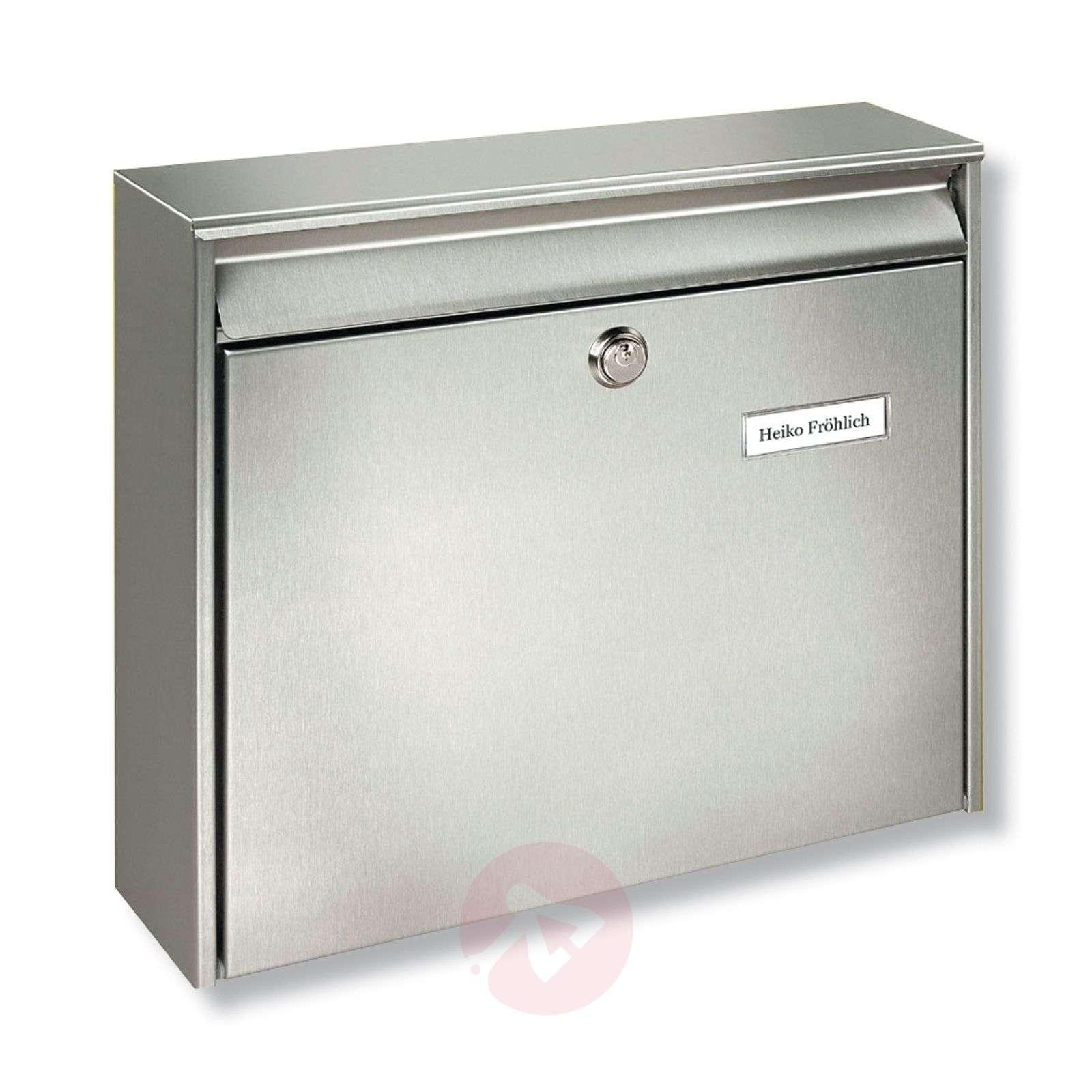 Borkum-postilaatikko ruostumattomasta teräksestä-1532041-01