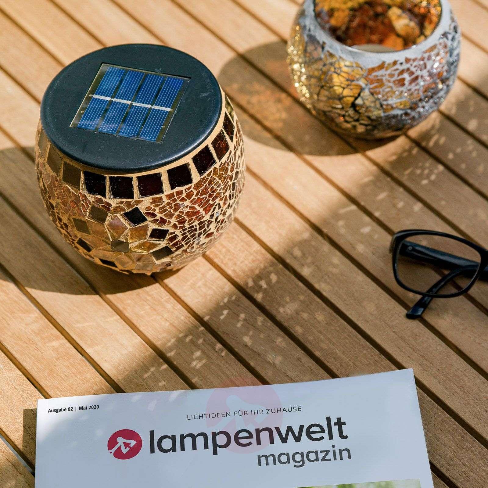 Brillant-mosaiikkivalaisin aurinkokenno lämminv.-3012124-01