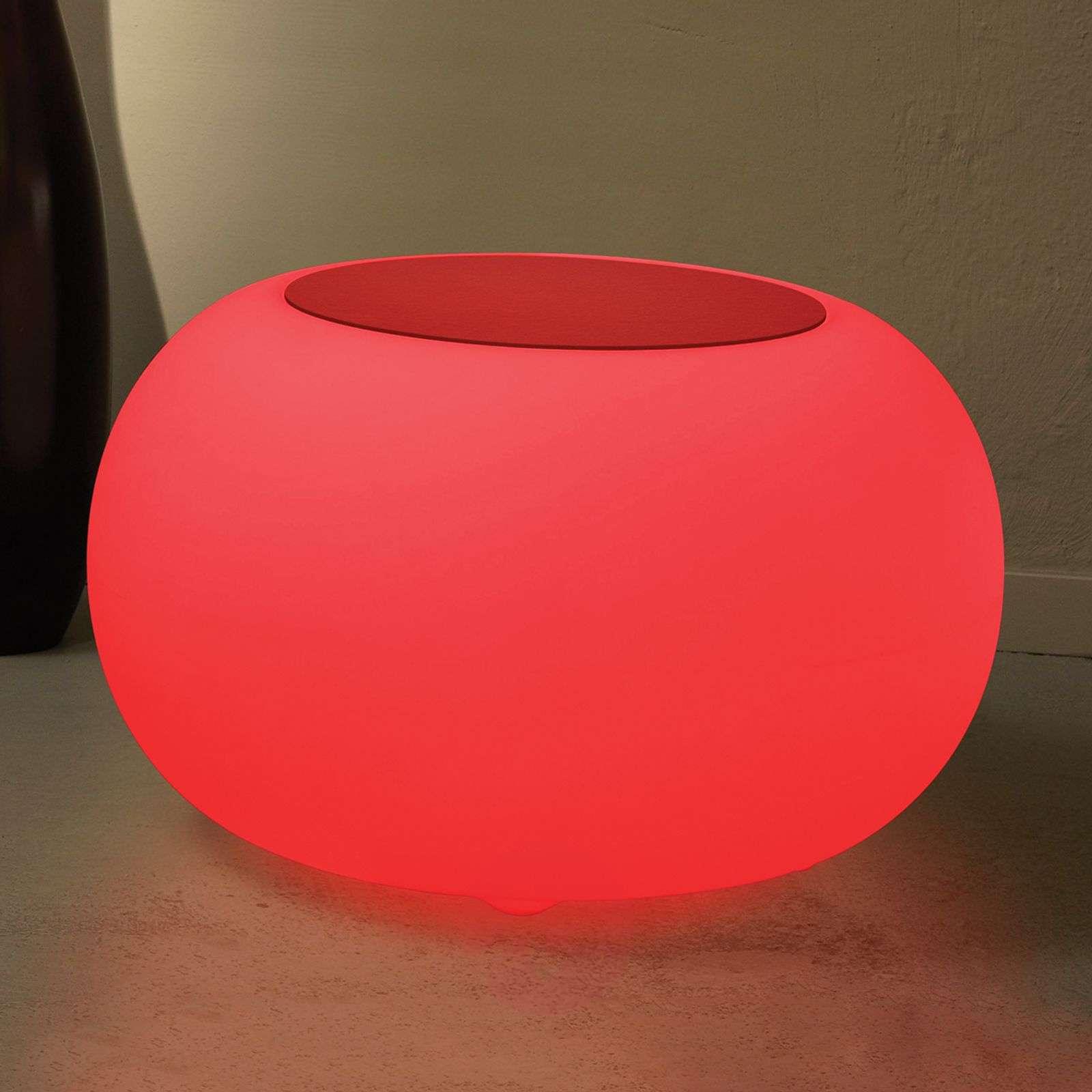Bubble LED Accu Outdoor pöytä huopa punainen-6537085-01