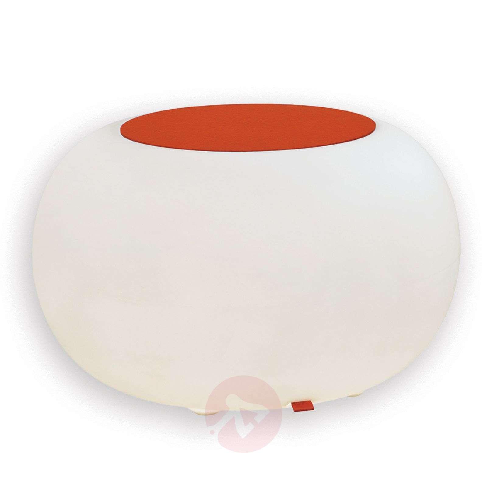 Bubble Outdoor pöytä valo valkoinen huopa oranssi-6537064-01