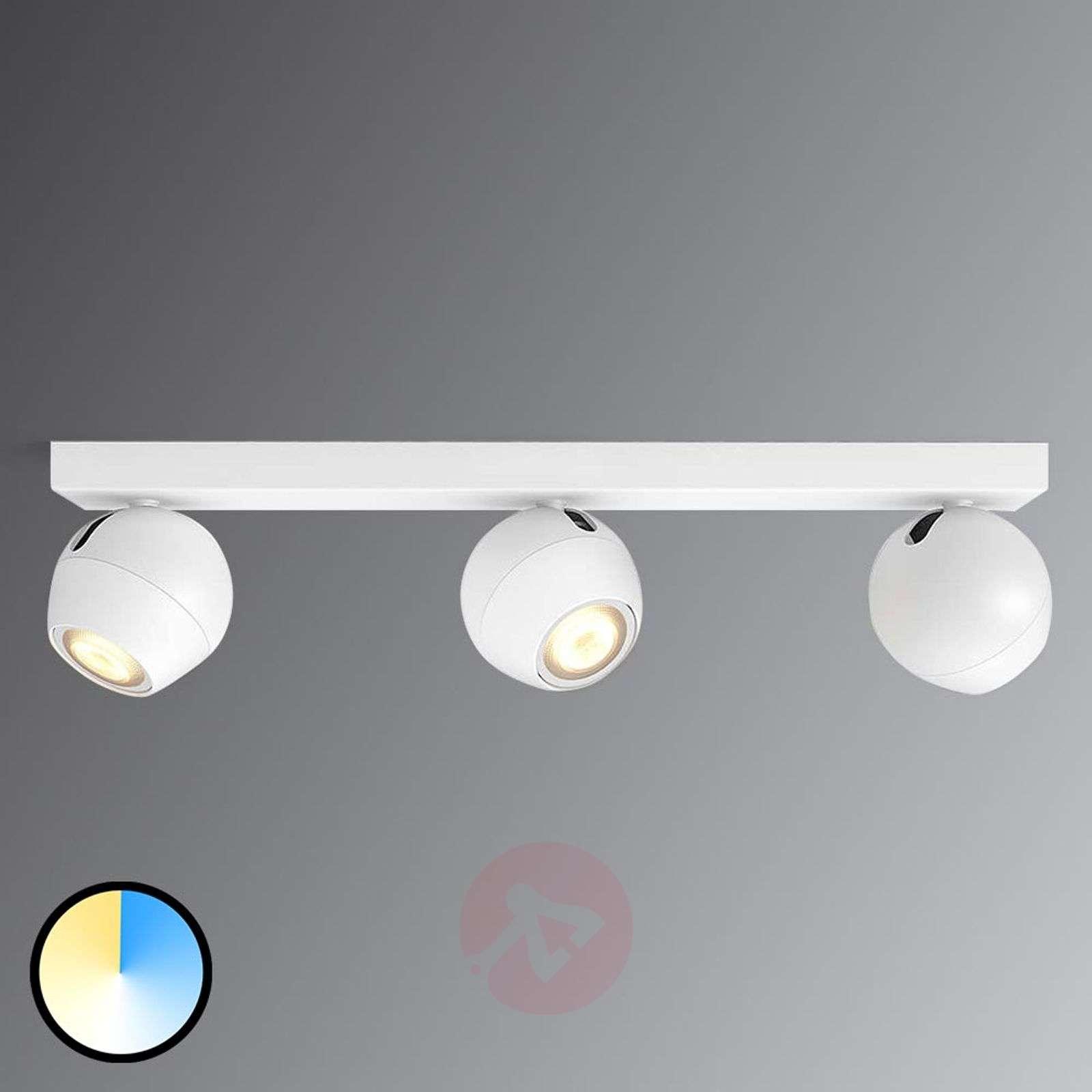 Buckram – 3-lamppuinen Philips Hue LED-spotti valk-7532052-01