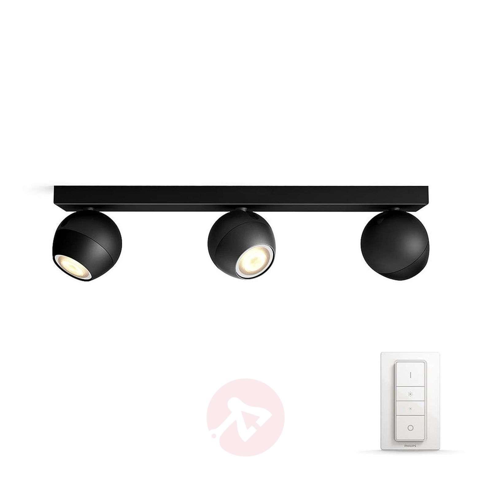 Buckram – 3-osainen Philips Hue LED-spotti musta-7532053-01