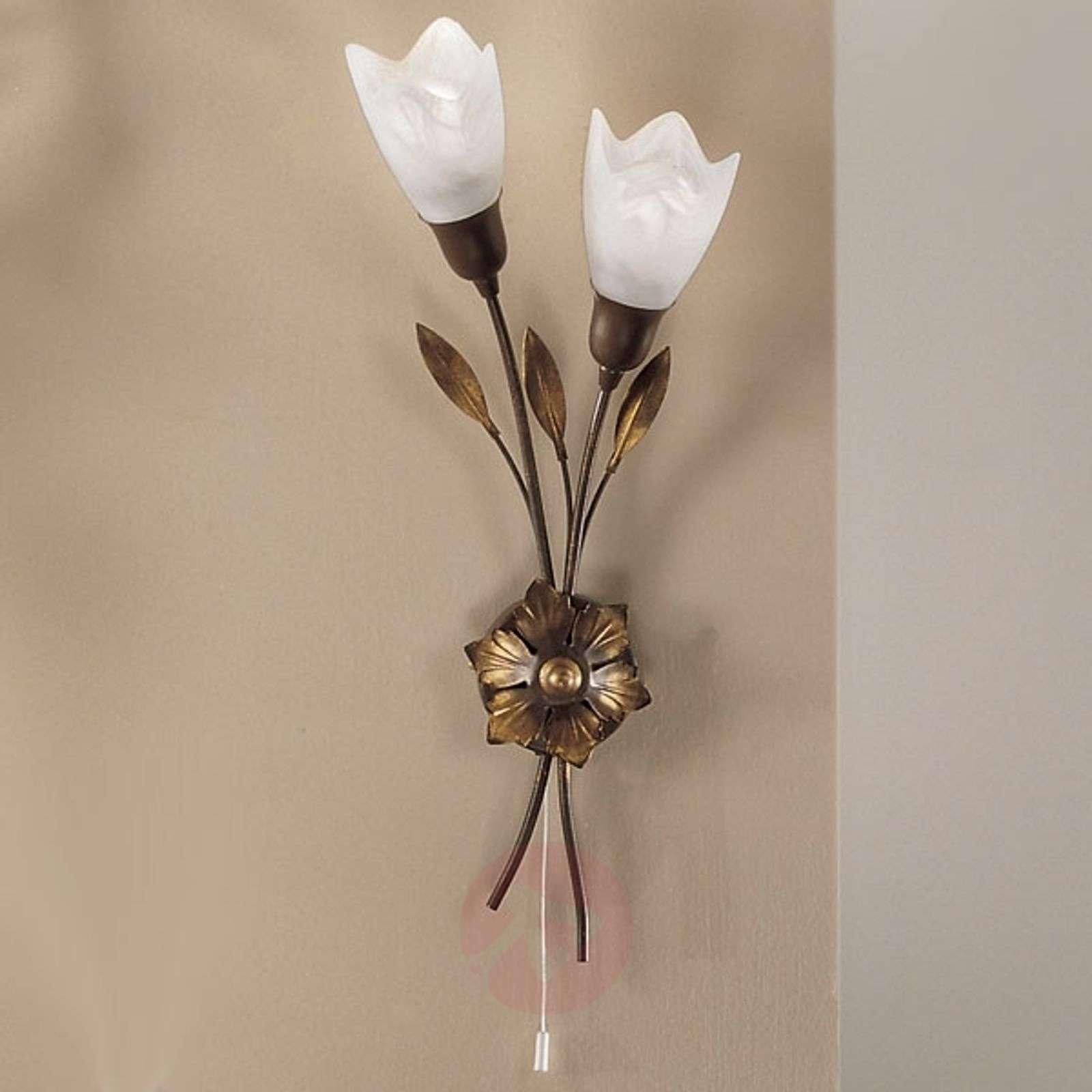 CAMPANA-seinälamppu, pitkät kukat vasemmalla-5505113-01