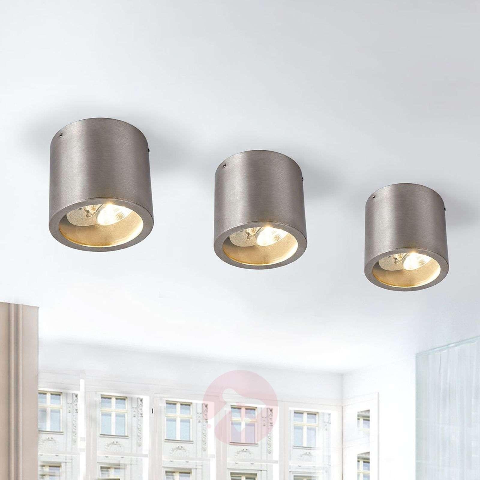 Carlo-kattospotti LEDeillä, ruostumaton teräs-4000368-01