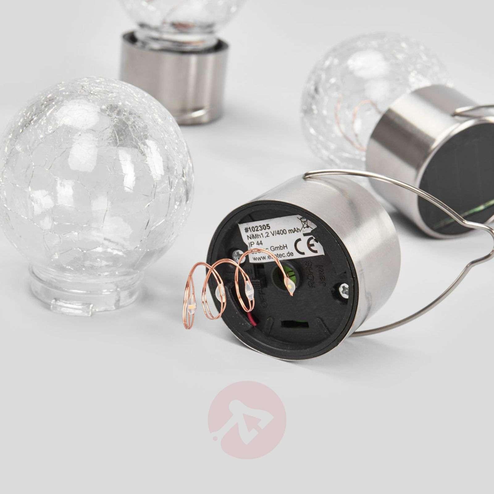 Color Ball-riippuvalot, aurinkokenno/LED 3-os.-3012234-01