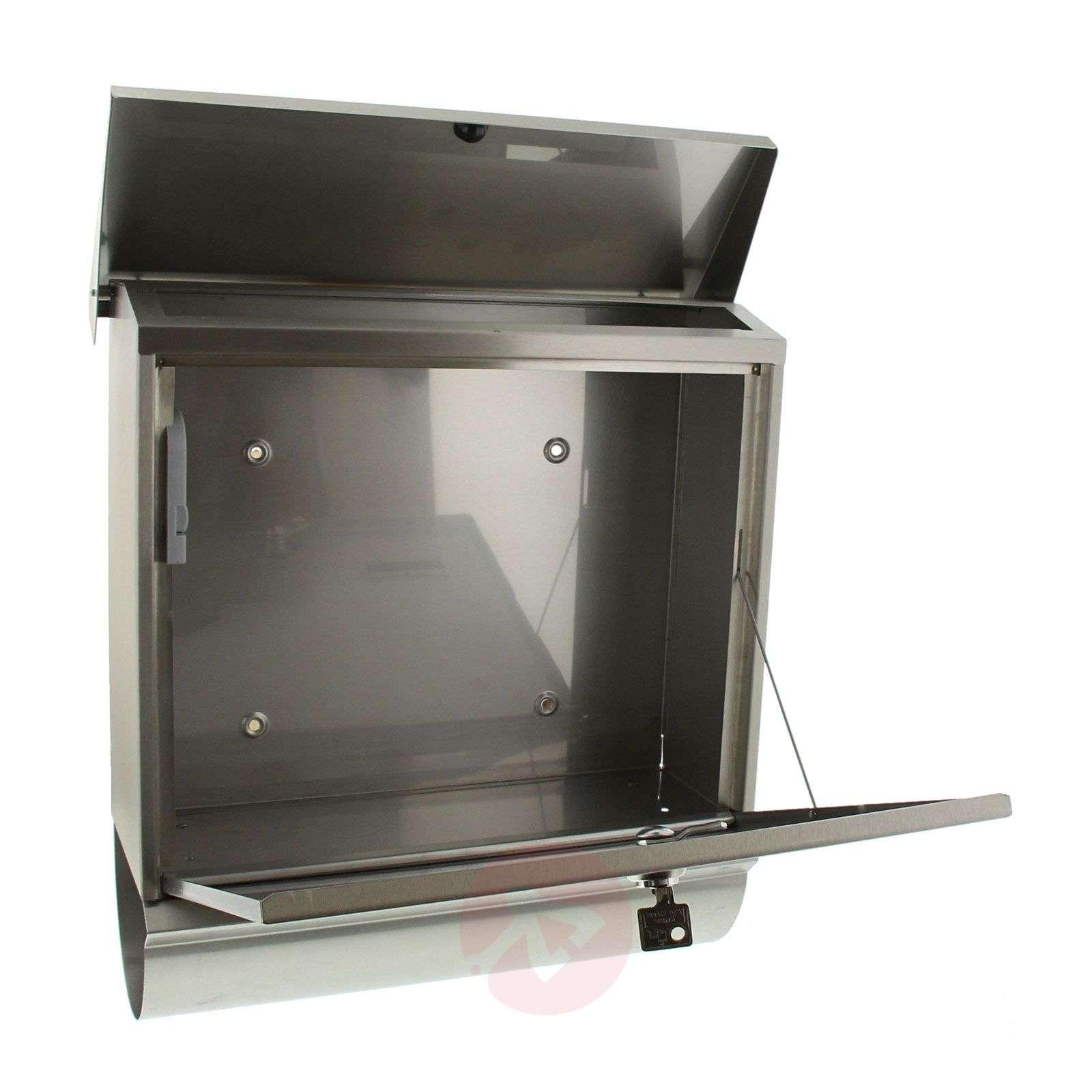 Comfort-postilaatikko, ruostumaton teräs-1532032-01
