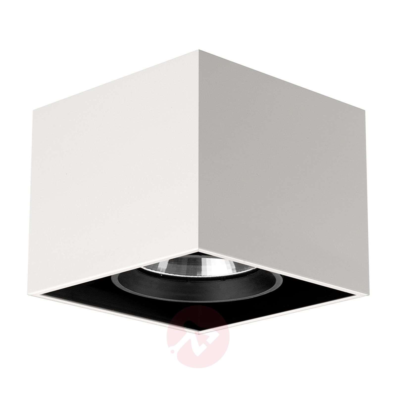 Compass Box neliömäinen kattovalaisin, valkoinen-3510240-01