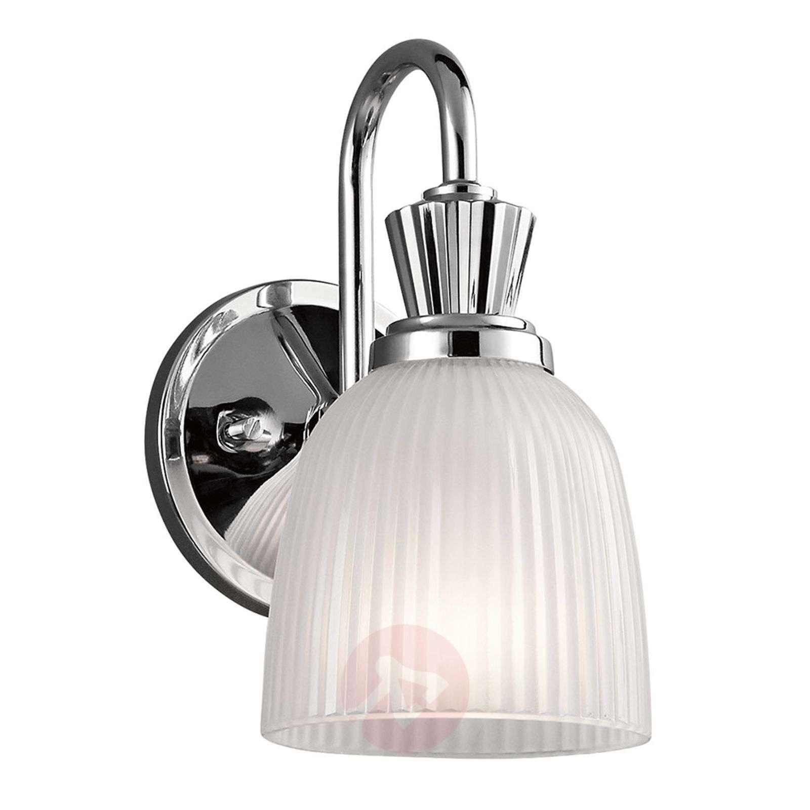 Cora-kylpyhuoneen LED-seinävalaisin lasikuvulla-3048859-01