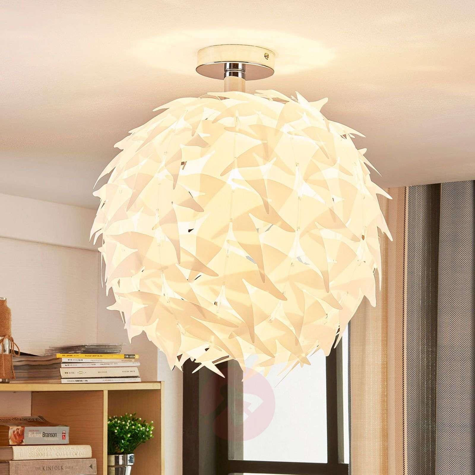 Corin – valkoinen kattovalaisin, trendikäs ulkoasu-9621143-01