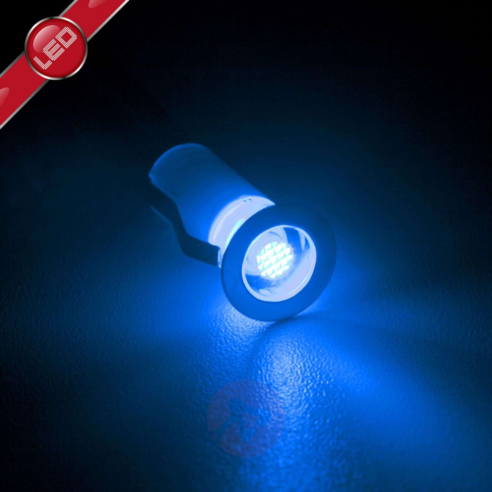 Cosa-LED-uppovalaisin 1,5 cm 10 kpl sininen-1507140-01