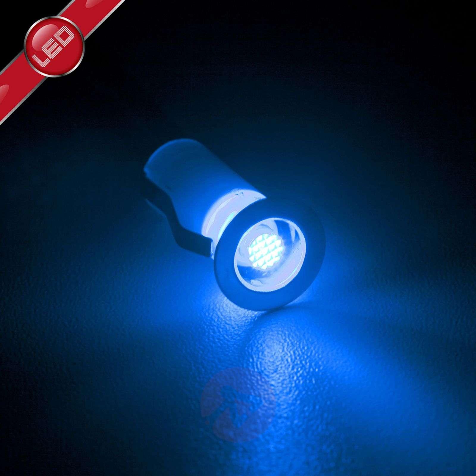 Cosa-LED-uppovalaisin, 10 kpl:n setti, sininen-1507140-01