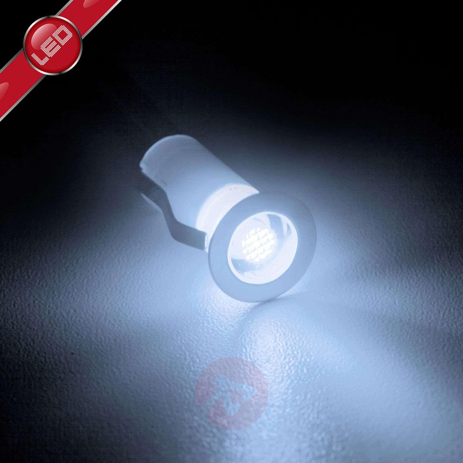Cosa-LED-uppovalaisin, 10 kpl:n setti, valkoinen-1507141-01