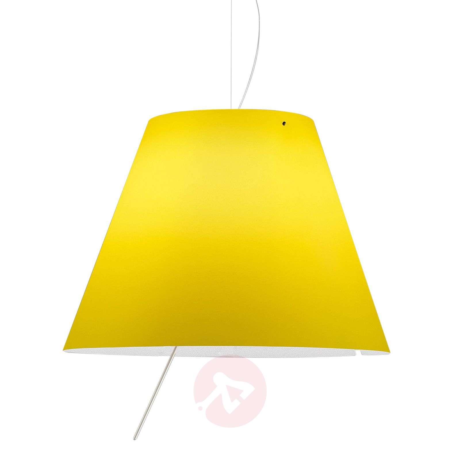 Costanza – LED-riippuvalaisin, keltainen-6030159-01