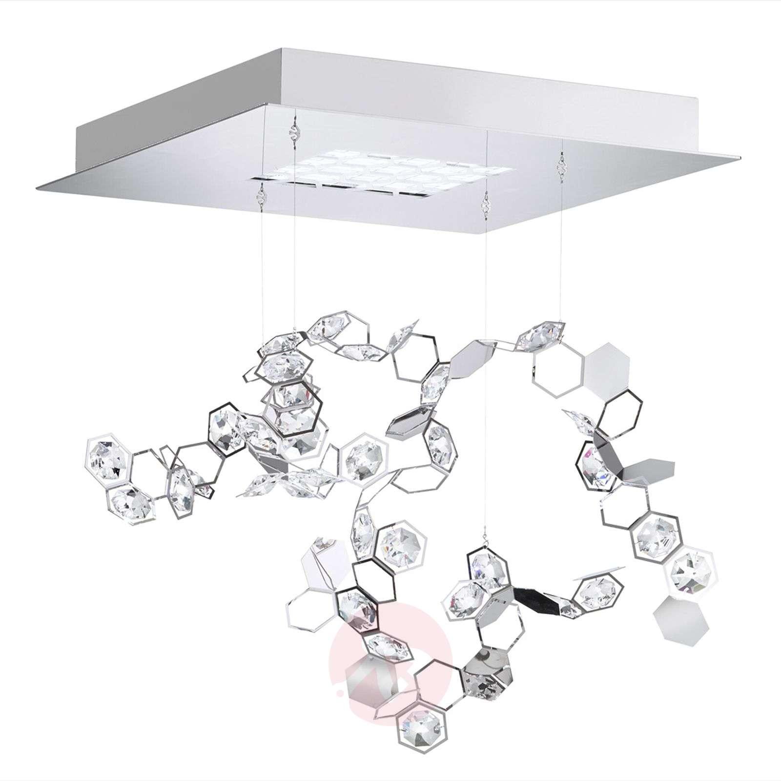 Crystalon-riippuvalaisin LEDeillä, 39x39 cm-8578024-03