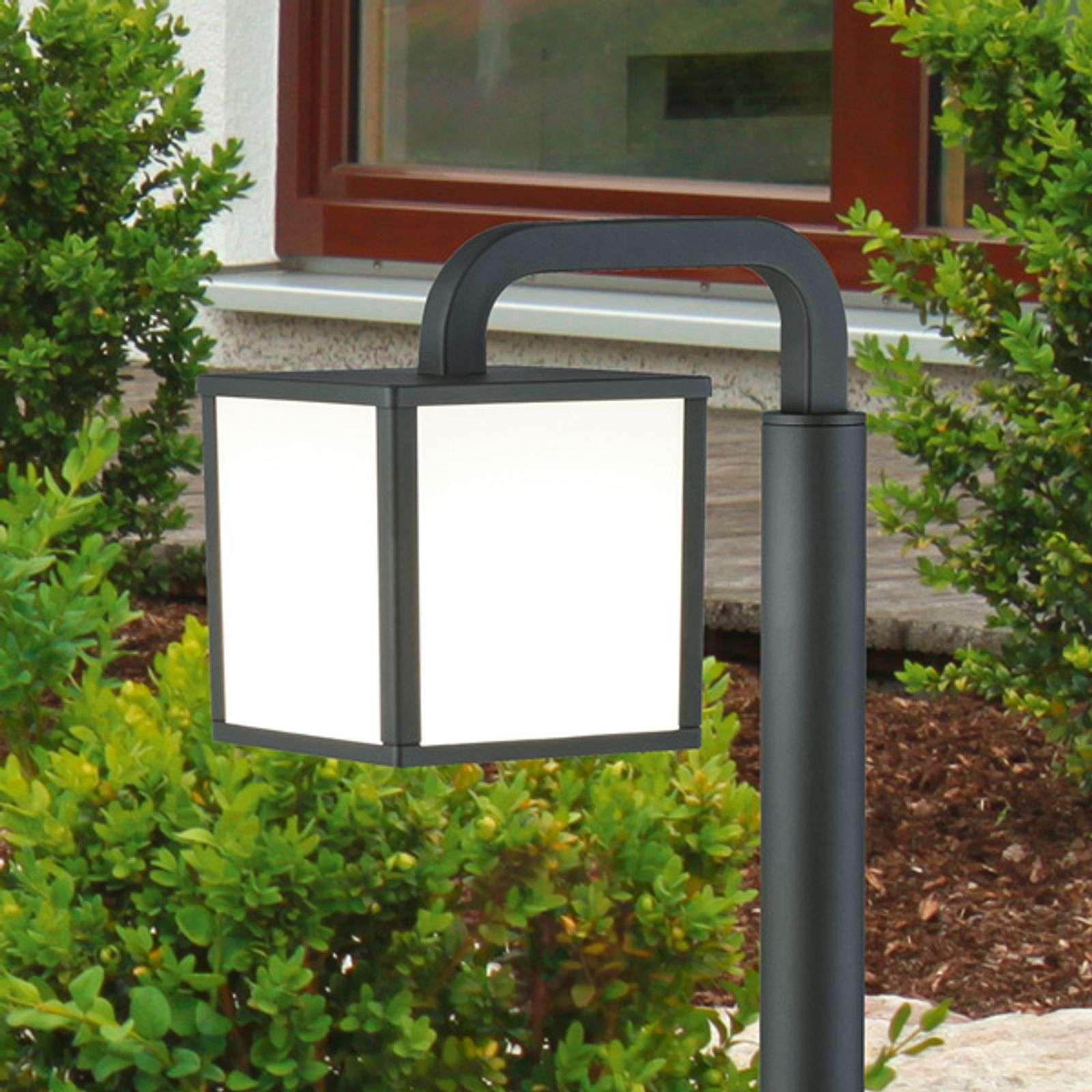 Cubango LED-pylväsvalaisin lyhdyn muodossa-9004727-01